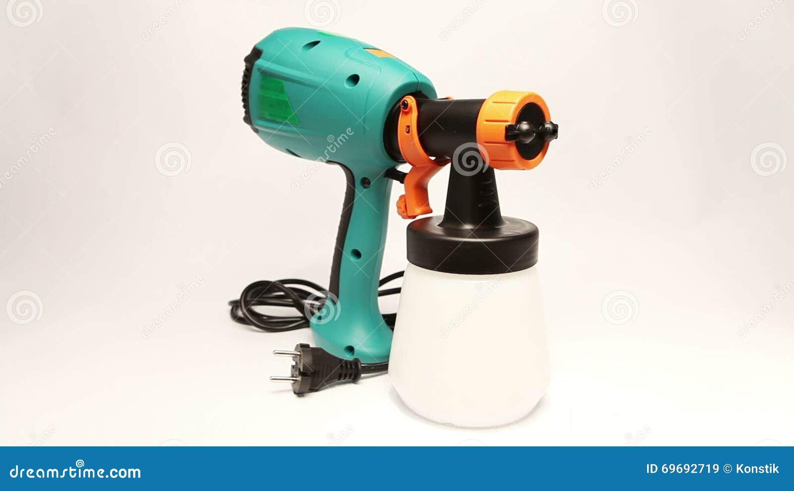 elektrische farbspritzpistole für färbung, für farbpulverisierung