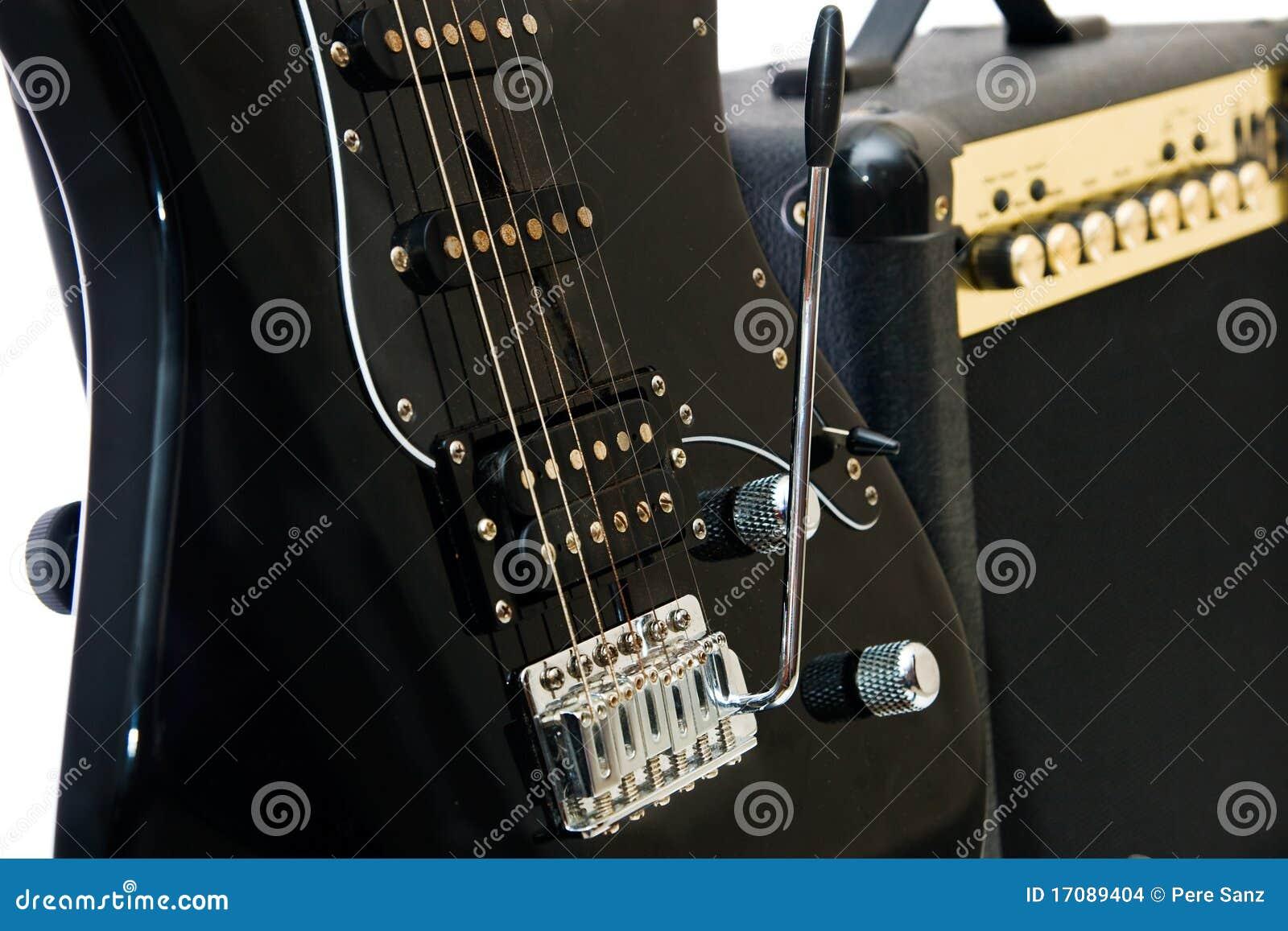 Elektrische Gitarre und Verstärker