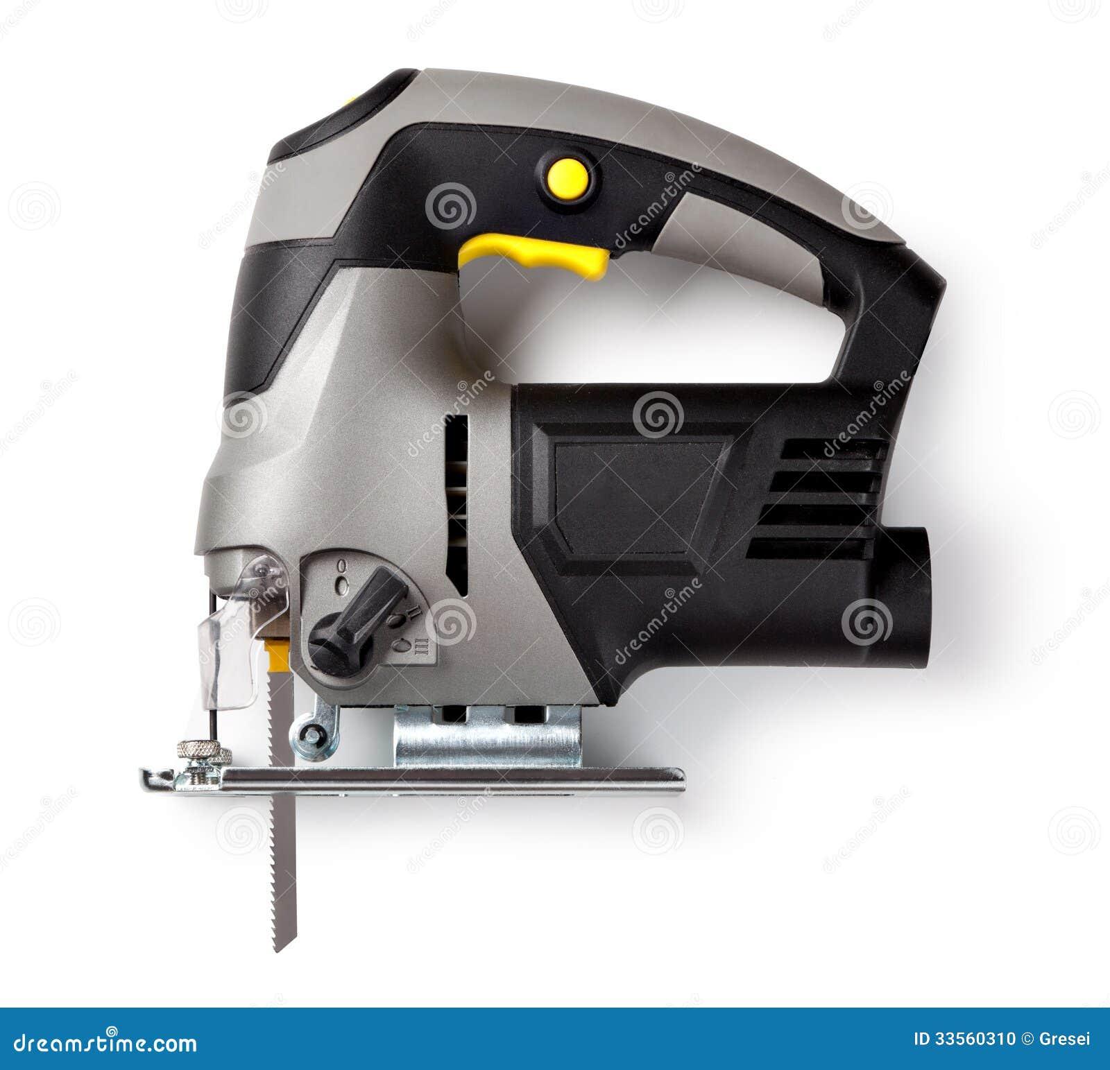 elektrische laubsäge stockfoto. bild von elektrisch, gebäude - 33560310