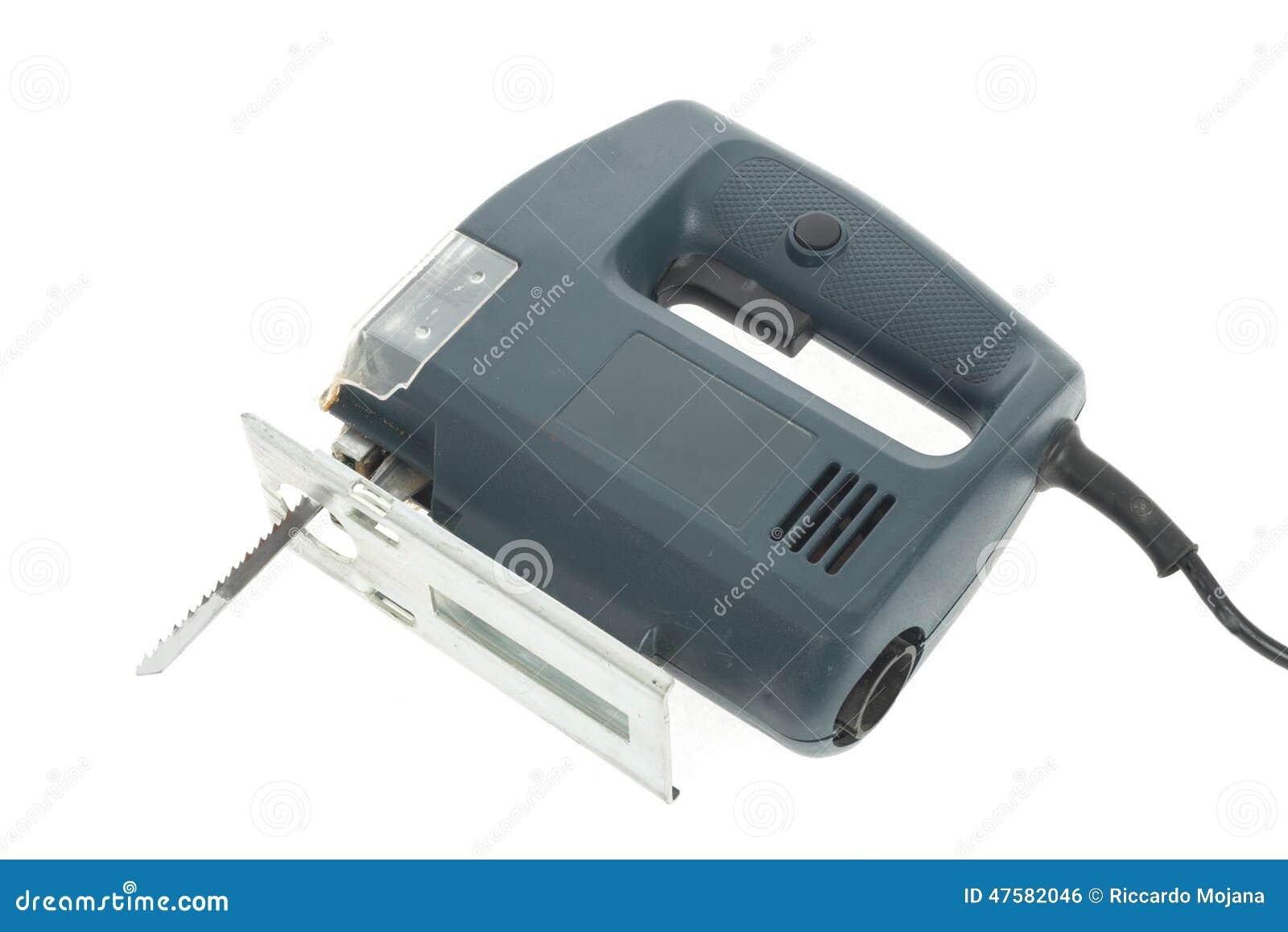 elektrische laubsäge stockfoto. bild von elektrisch, leistung - 47582046