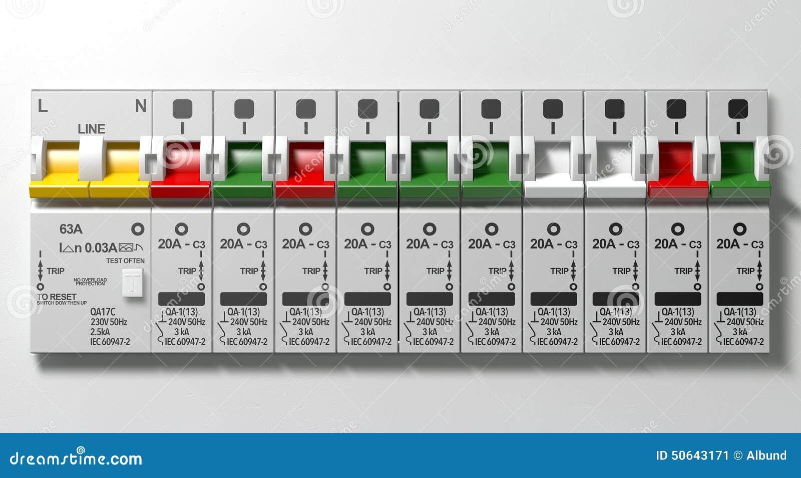 Fein Schaltplan Für 240 V Leistungsschalter Fotos - Elektrische ...
