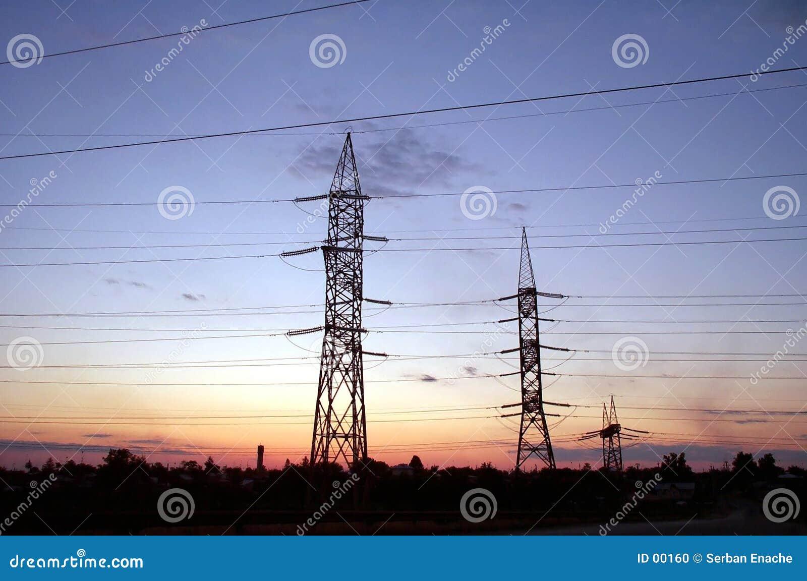 Elektrische Pfosten