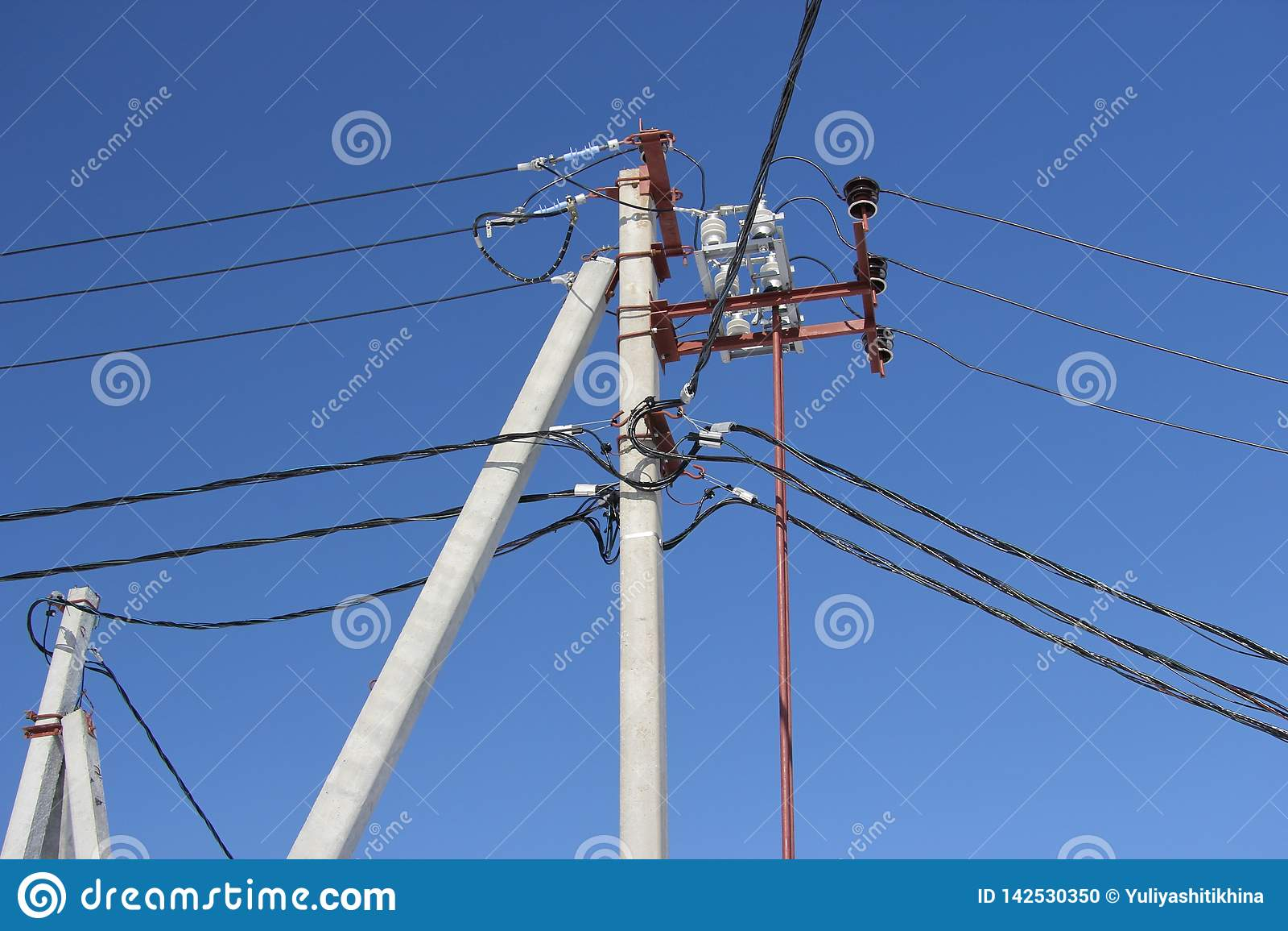Elektrische pooldraden
