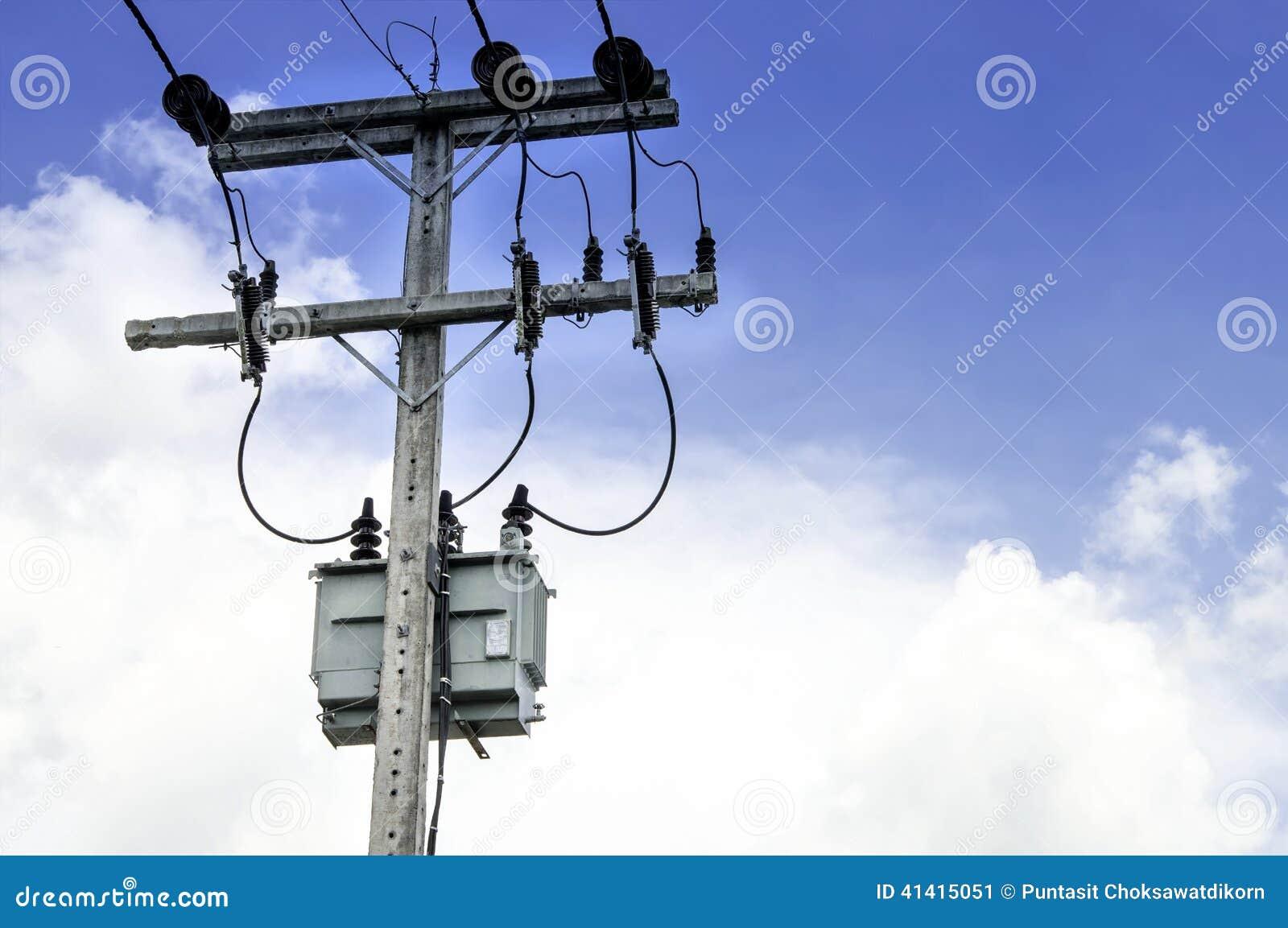 Elektrische post en Transformator