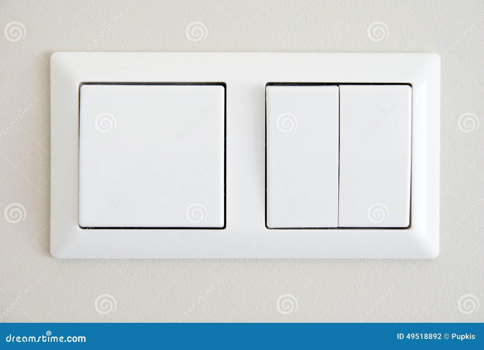 Elektrische Schalter stockfoto. Bild von rund, haushalt - 49518892