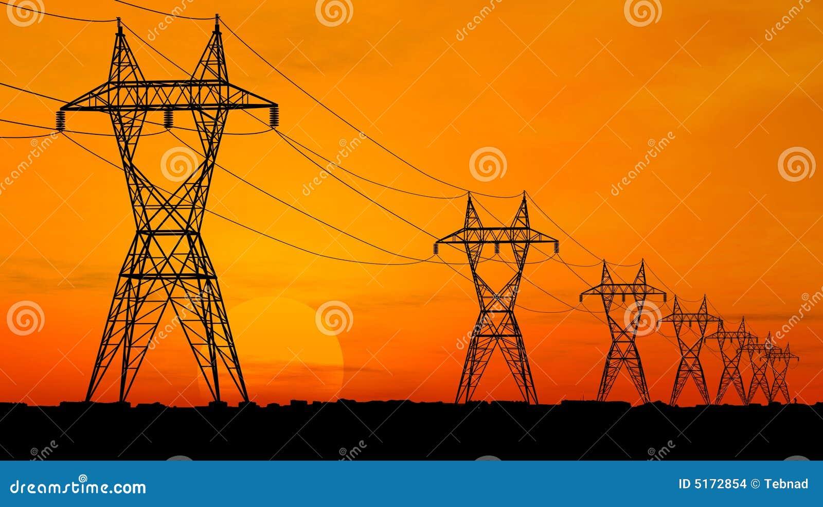 Elektrische Starkstromleitungen