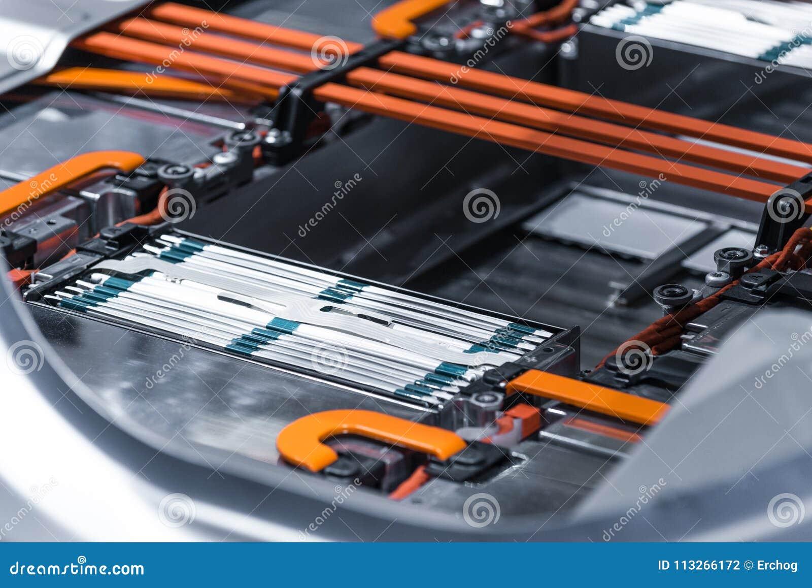 Elektrische Van De De Batterijpak En Macht Van Het
