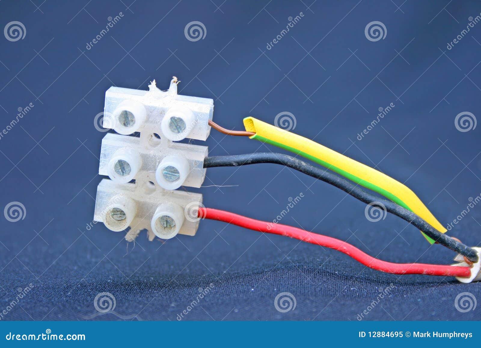 Elektrischer Anschluss Lizenzfreies Stockfoto Bild
