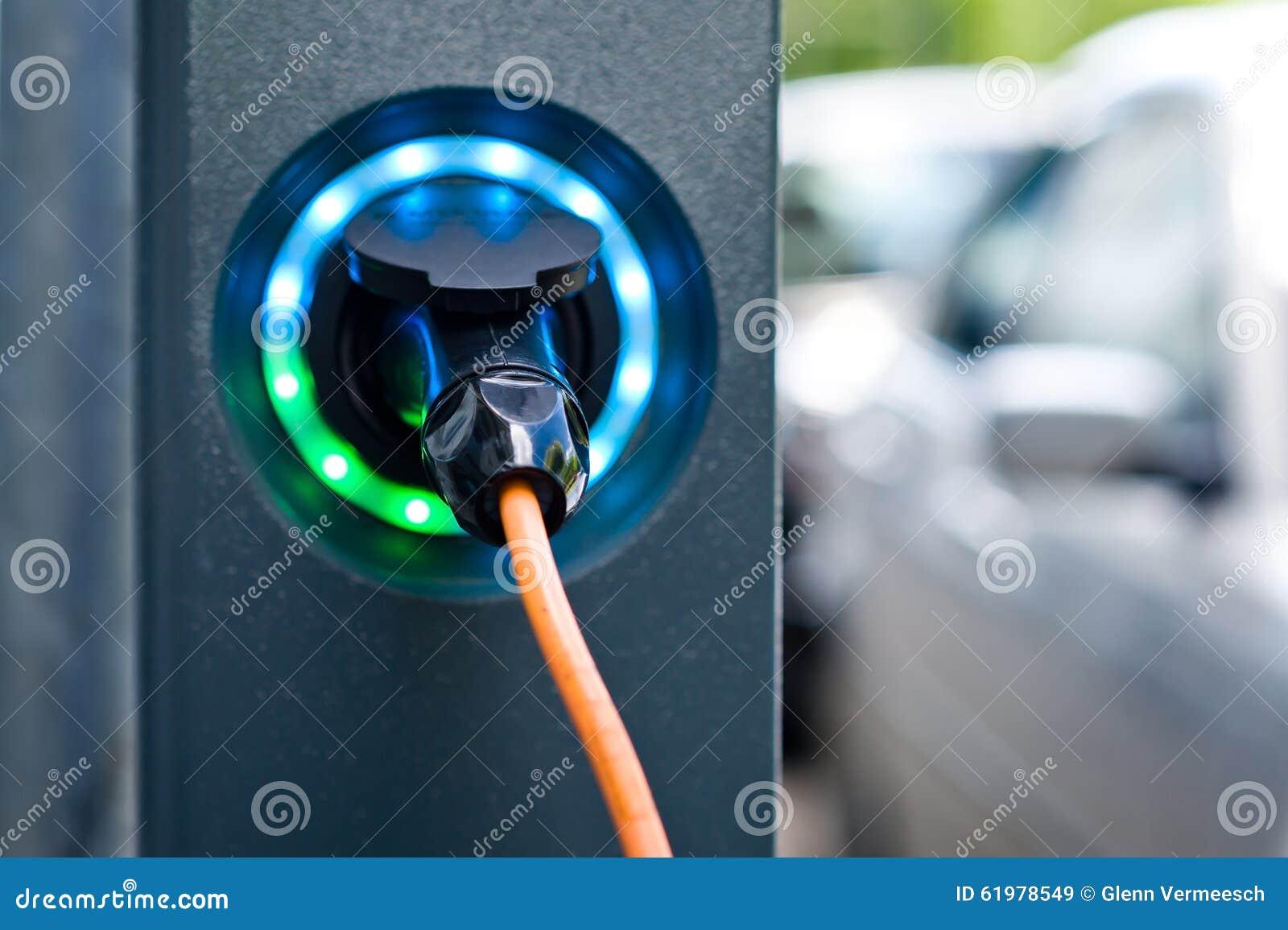 Elektrischer Autobatterie-Ladegerätsockel