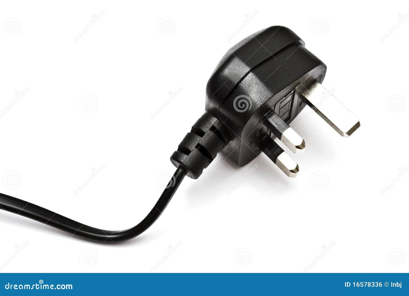 Elektrischer Bolzen Getrennt Auf Dem Weiß Stockfoto - Bild von ...
