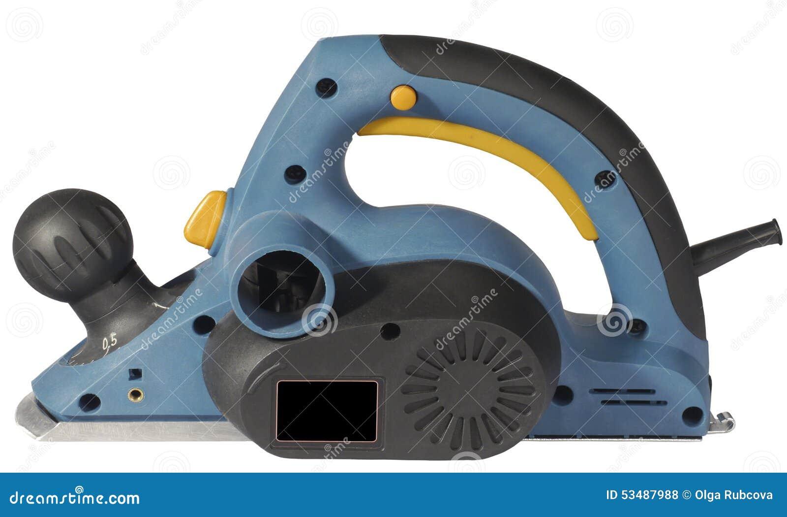 elektrischer hobel stockfoto. bild von profil, instrument - 53487988