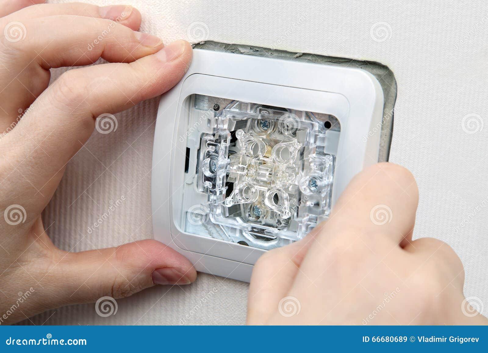 Tolle Elektrische Lichtschalter Fotos - Elektrische Schaltplan-Ideen ...