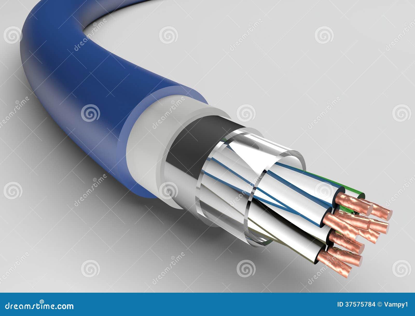 Ungewöhnlich Elektrisches Kabel Mit 12 Stärken Fotos - Schaltplan ...