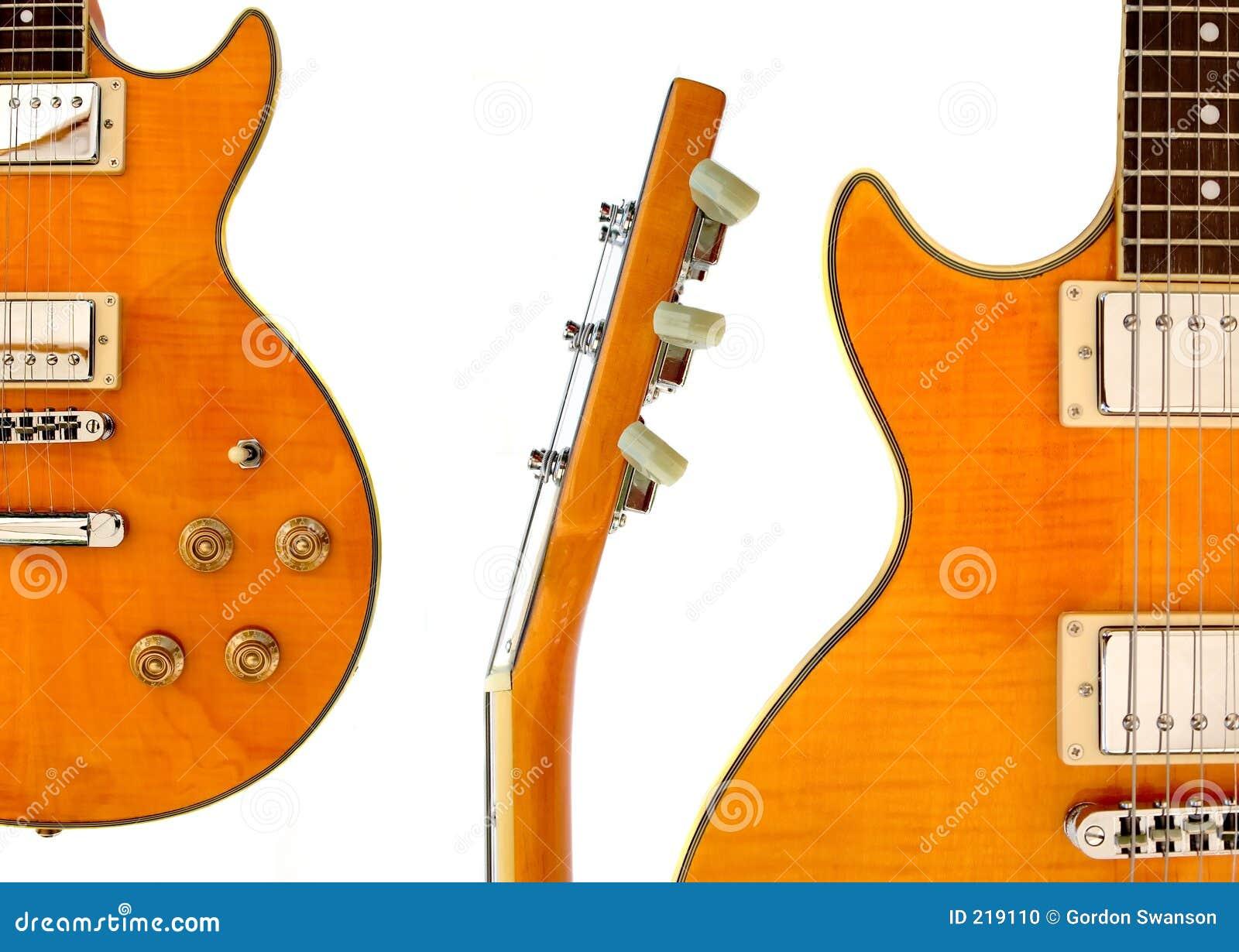 Elektrisk gitarrmontage