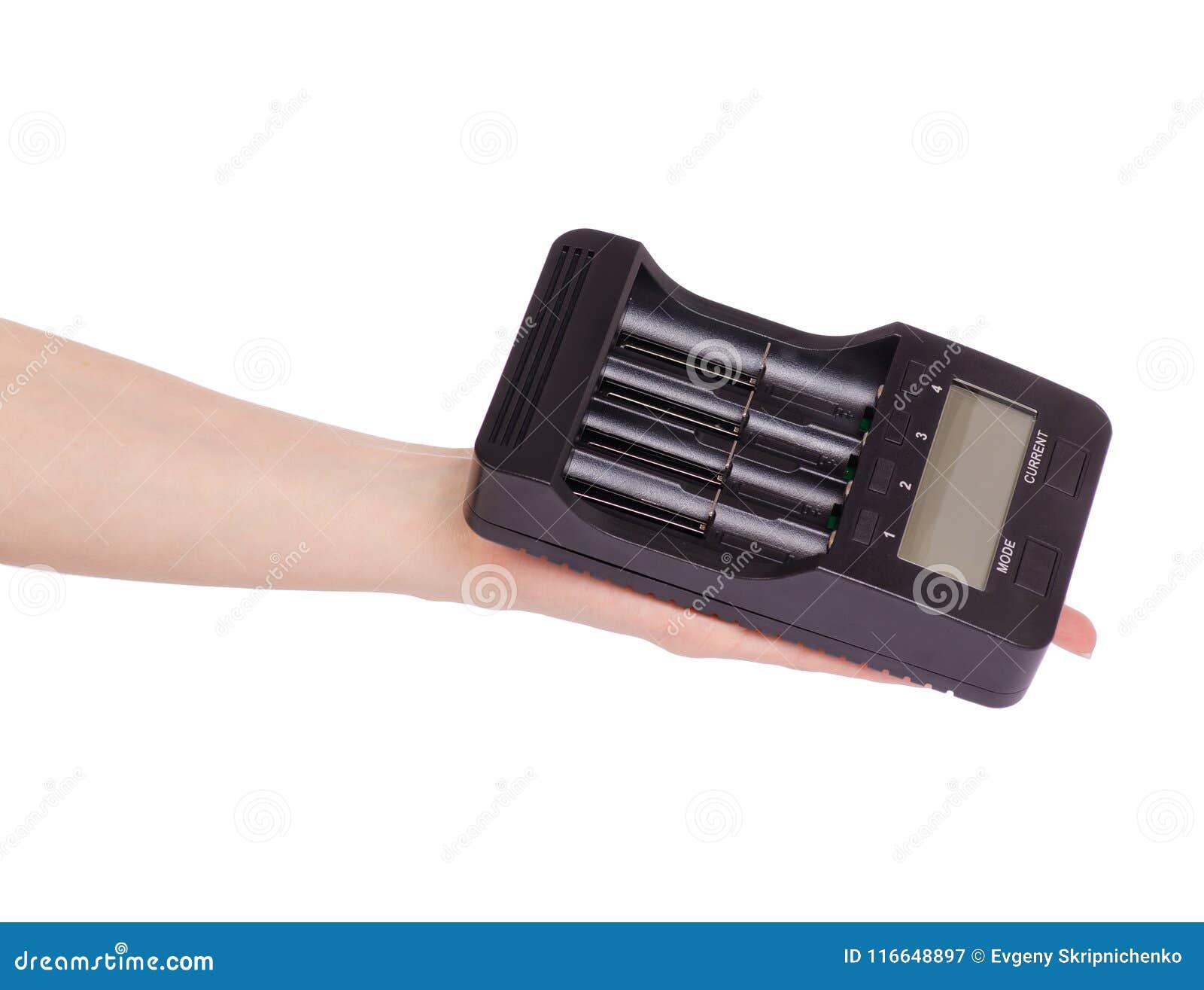 Elektrisk intellektuell för batteriuppladdare i hand