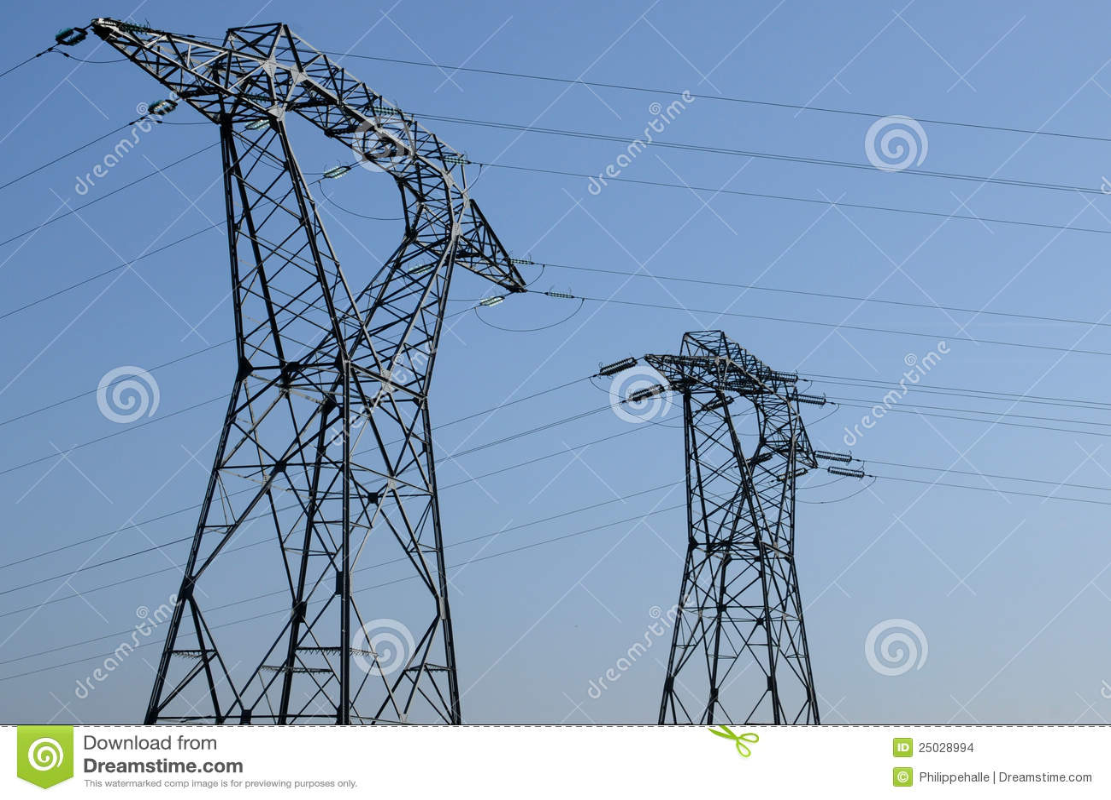 Elektrisk linje val oise för D