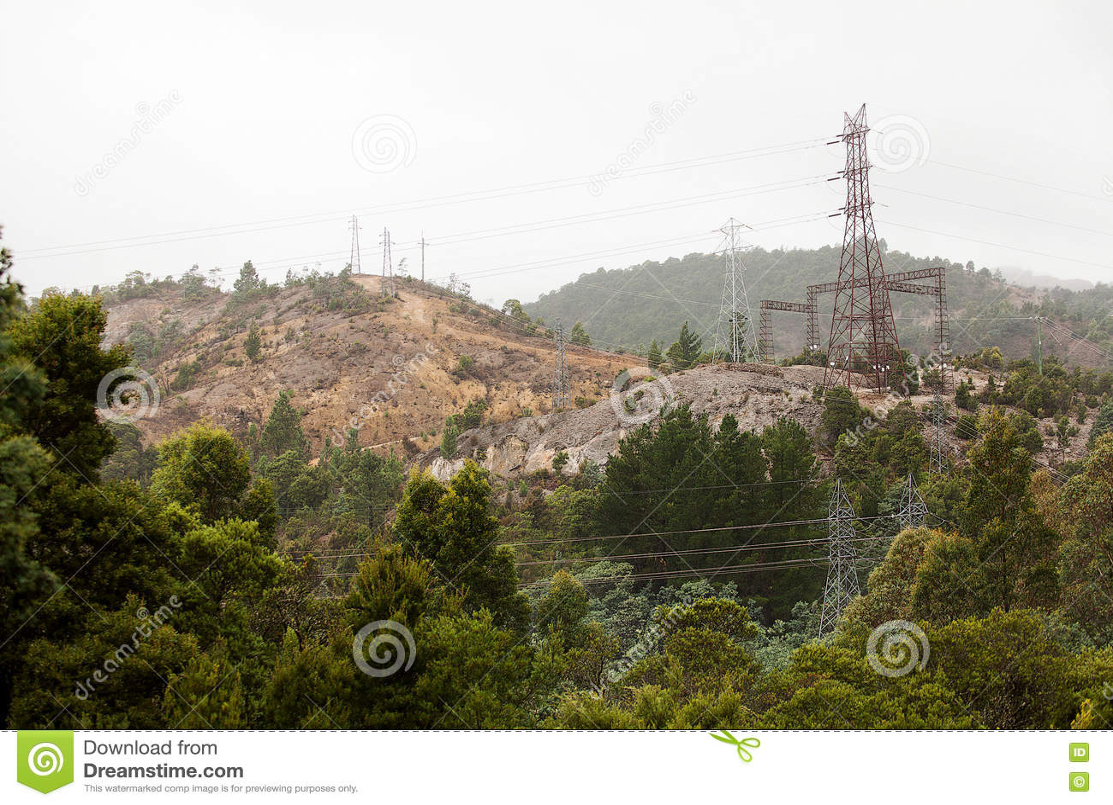 Elektrisk tornöverföring