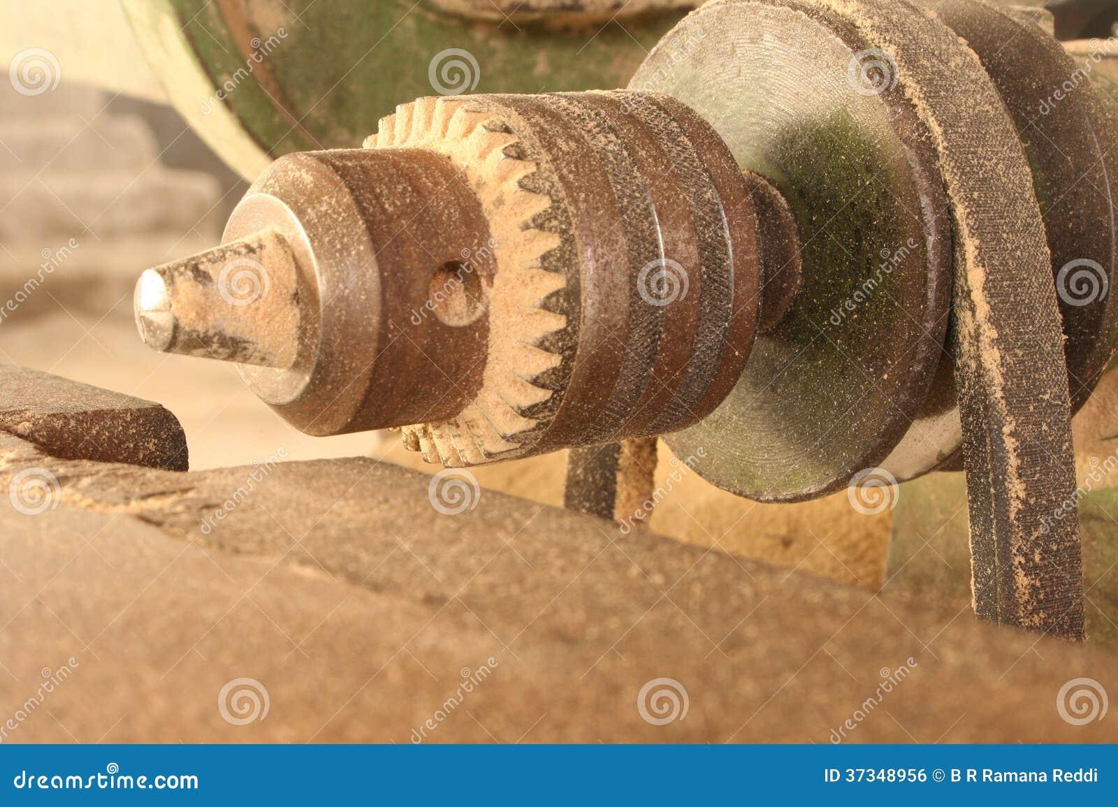 Elektriskt wood funktionsdugligt maskineri