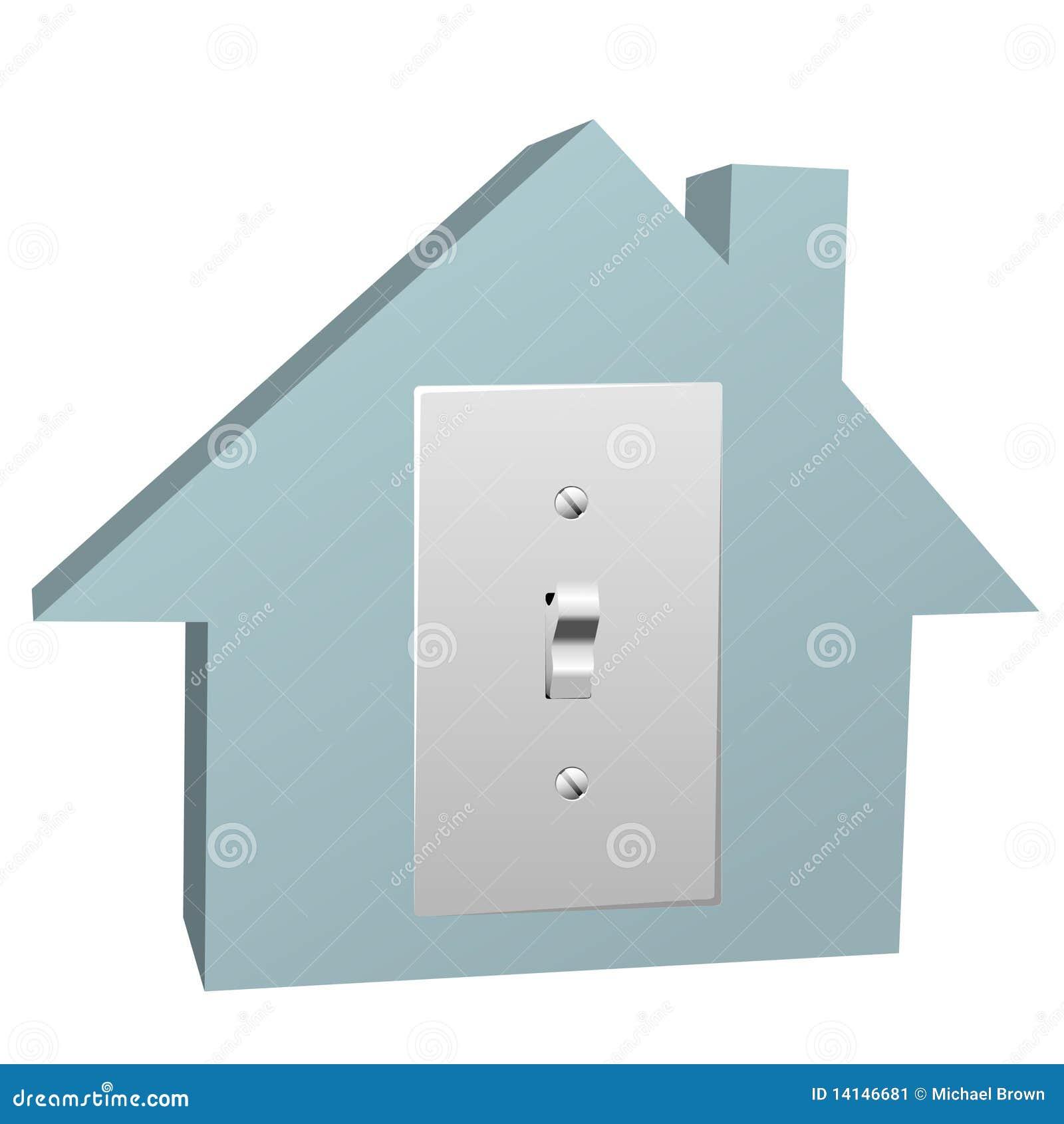 Fantastisch Elektrische Schalter Des Hauses Galerie - Schaltplan ...