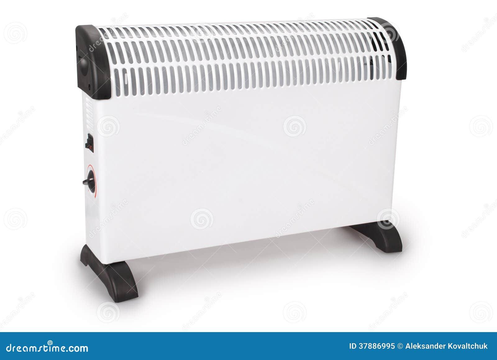 Elektro witte moderne verwarmer (het Knippen weg)