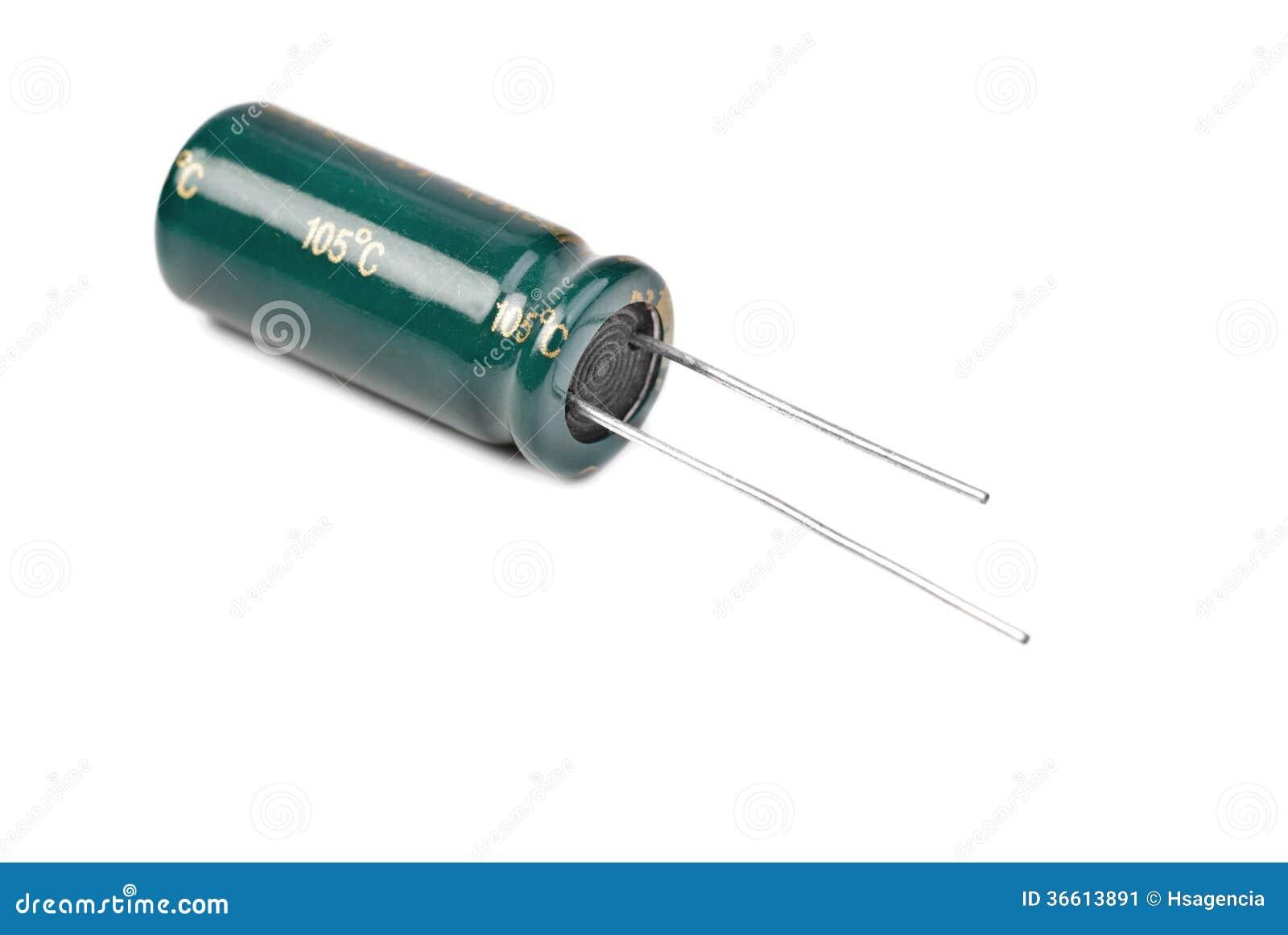 Elektrolytisk kondensator i gräsplan