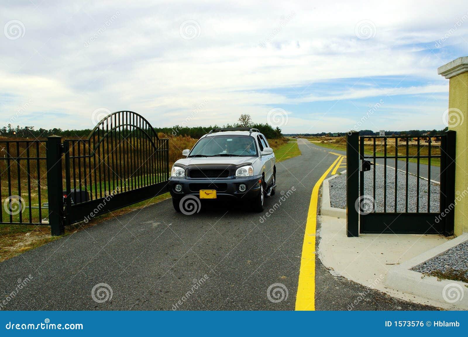 Elektroniczna dostępu do bramy