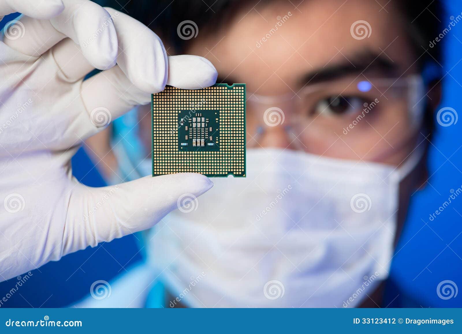 Elektroniczny mikroukład