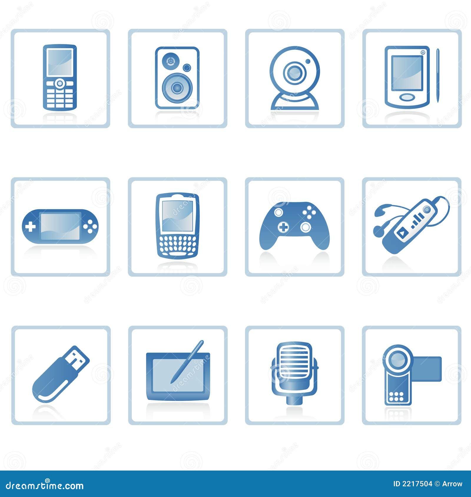 Elektronik mig symbol