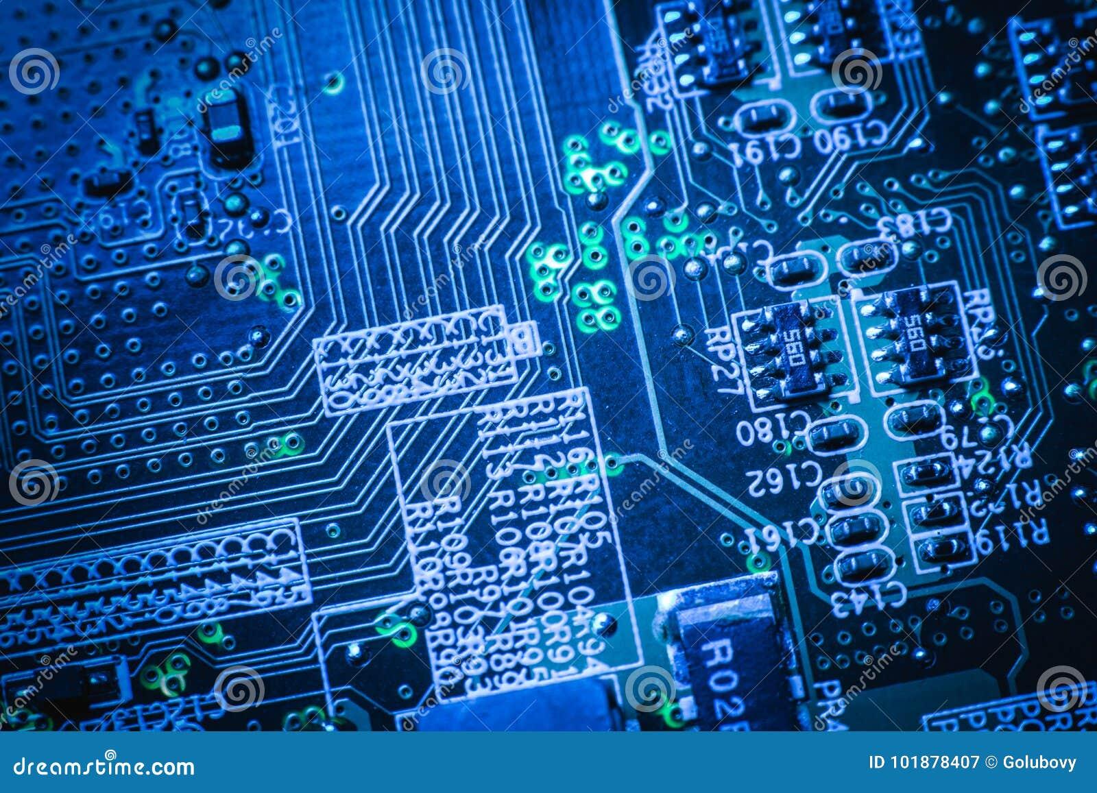 Elektronika konstruuje płyta główna cyfrowych dane
