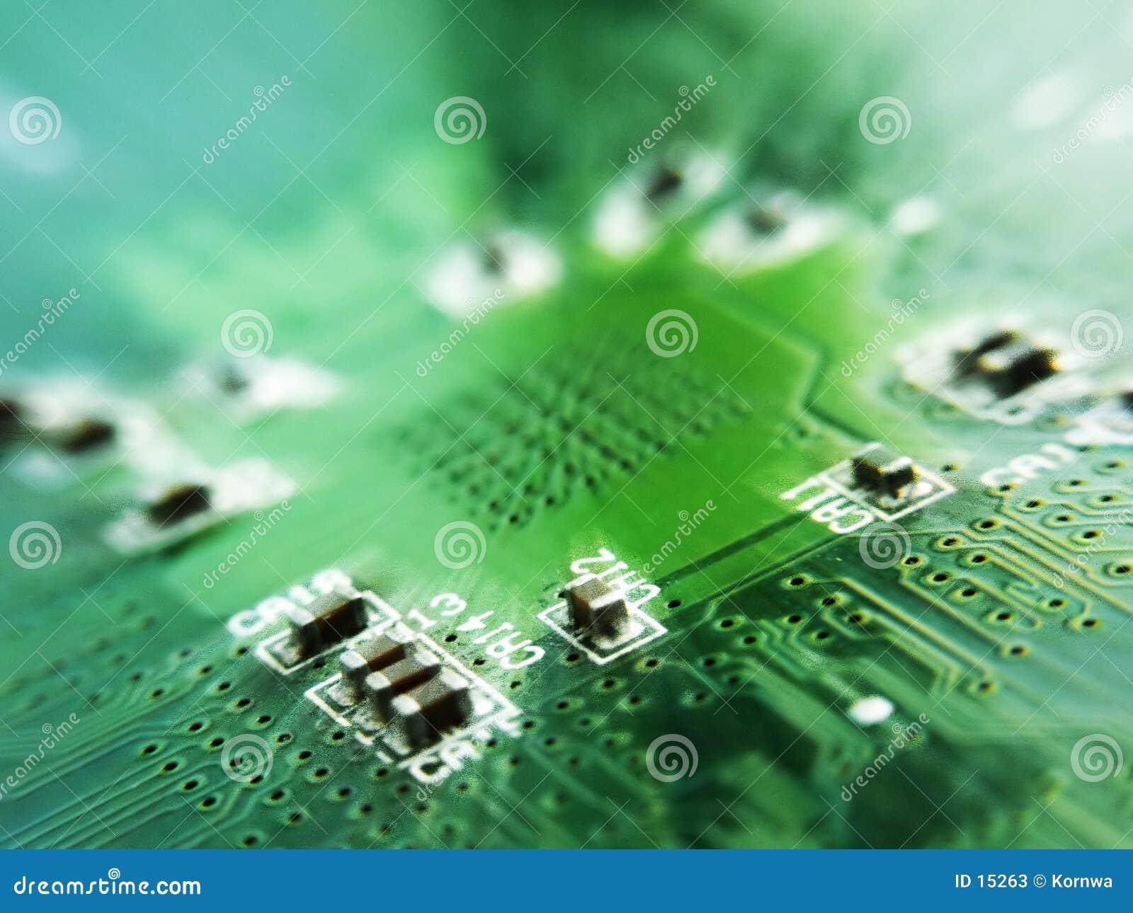 Elektronika ostrzą spoko