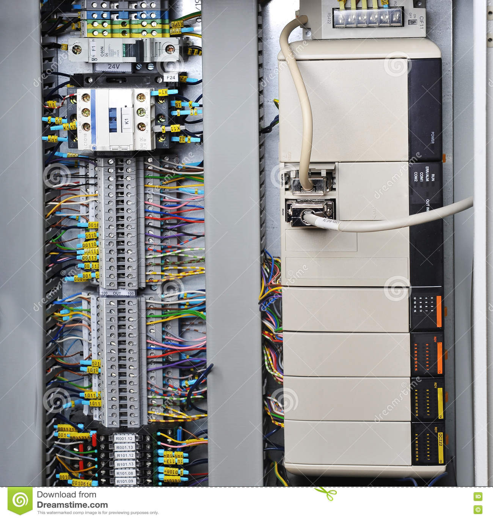 Elektronika systemy kontrolni