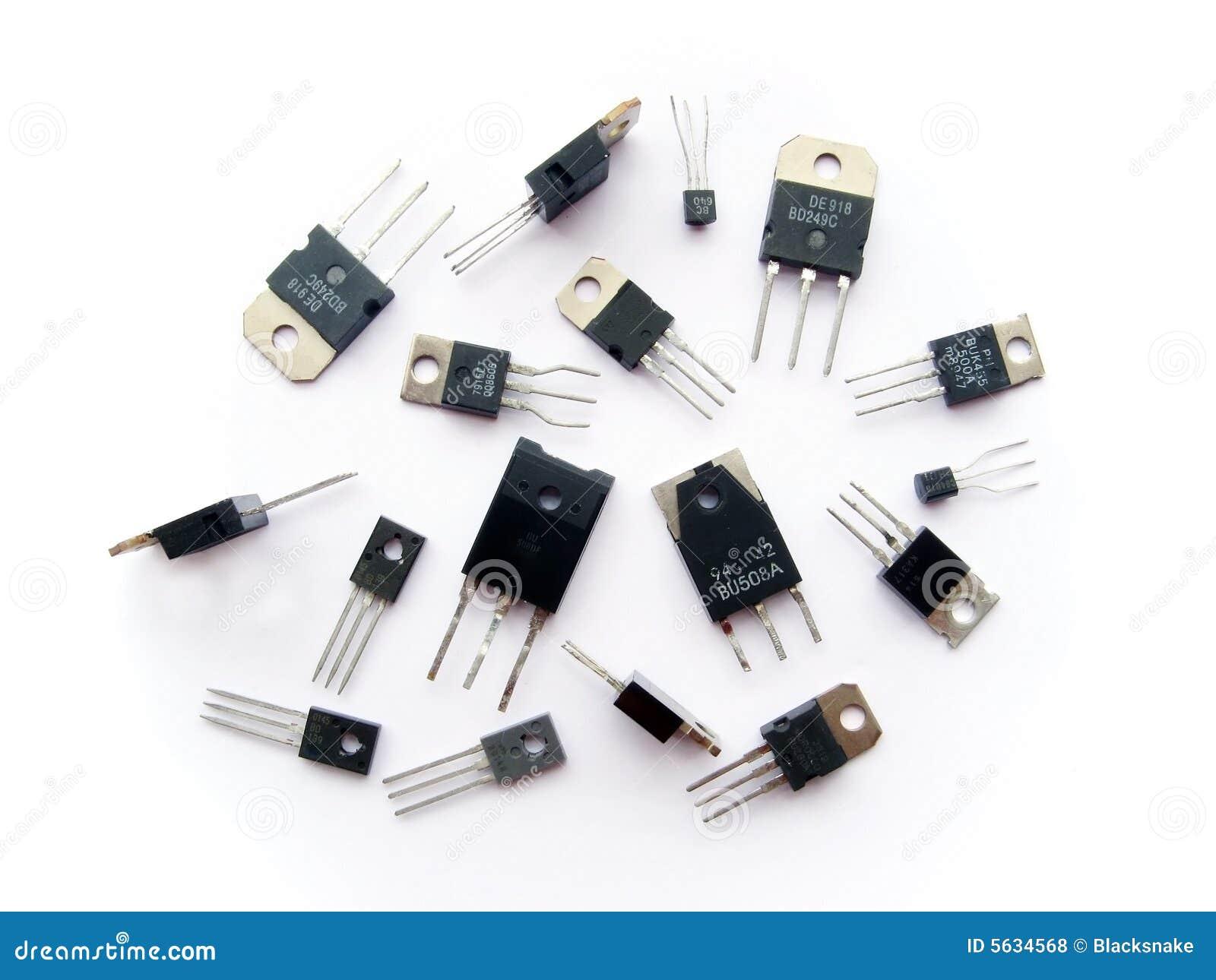 Elektronika wiązek tranzystor półprzewodnikowych