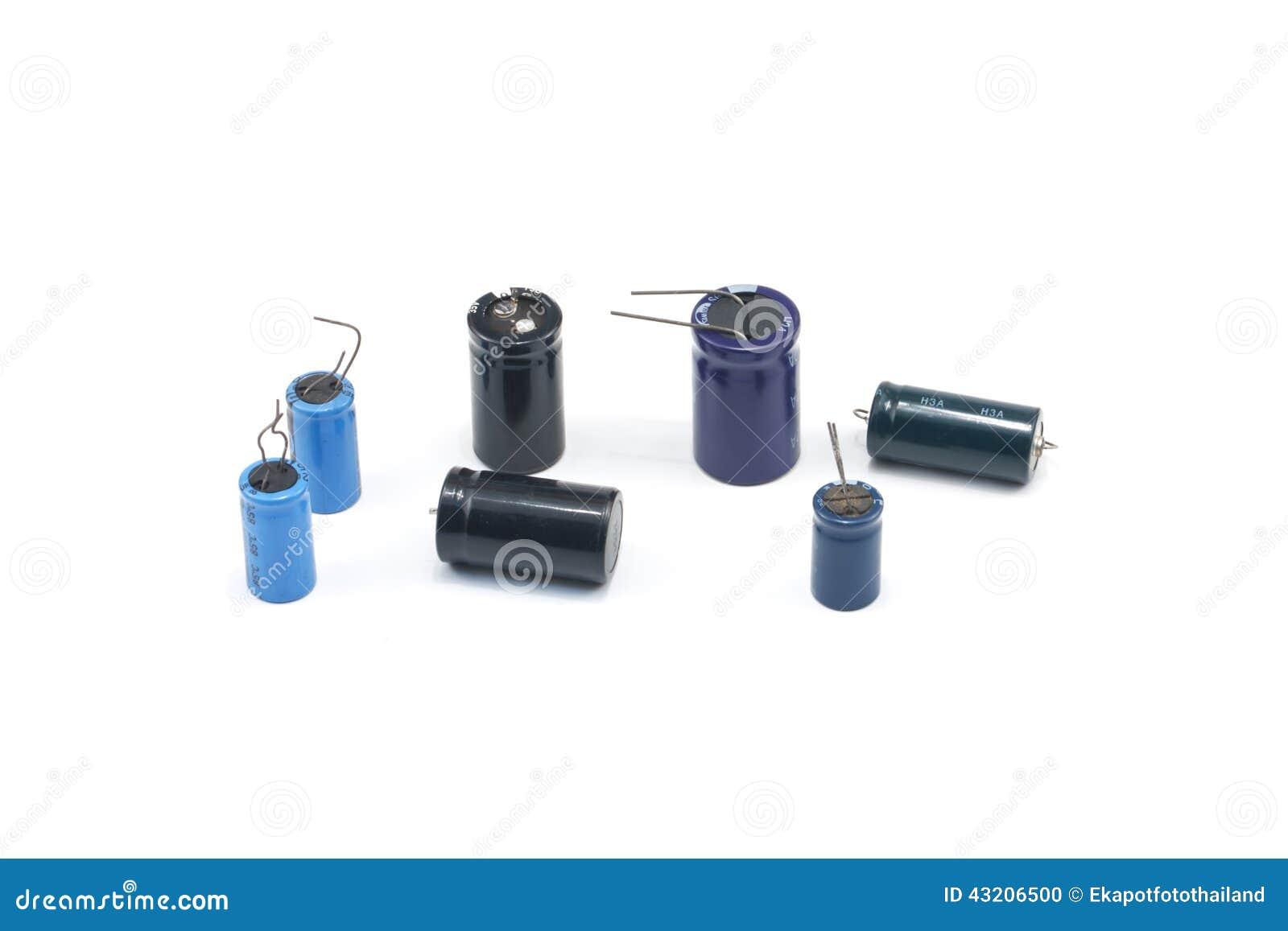 Download Elektronikdel arkivfoto. Bild av utrustning, kondensator - 43206500