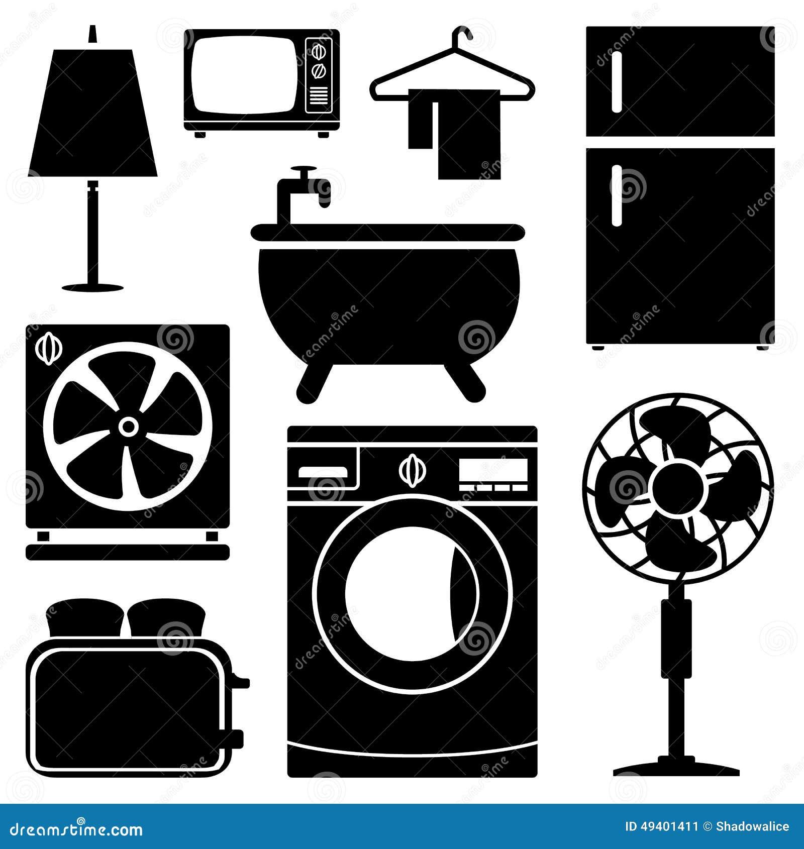 Download Elektronikhauptikonen Stellten Groß Für Jeden Möglichen Gebrauch Ein Vektor Eps10 Stock Abbildung - Illustration von dusche, elektronisch: 49401411