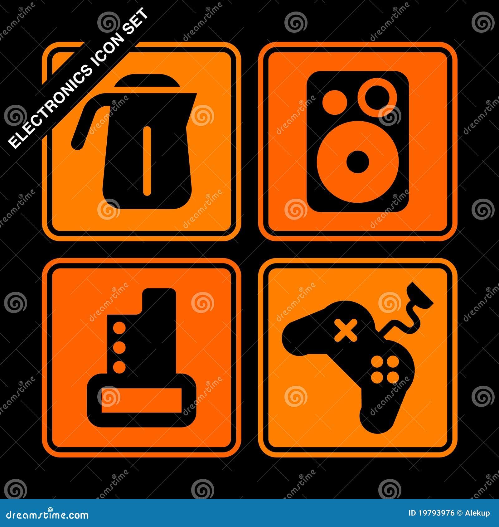 Elektroniksymbolsset