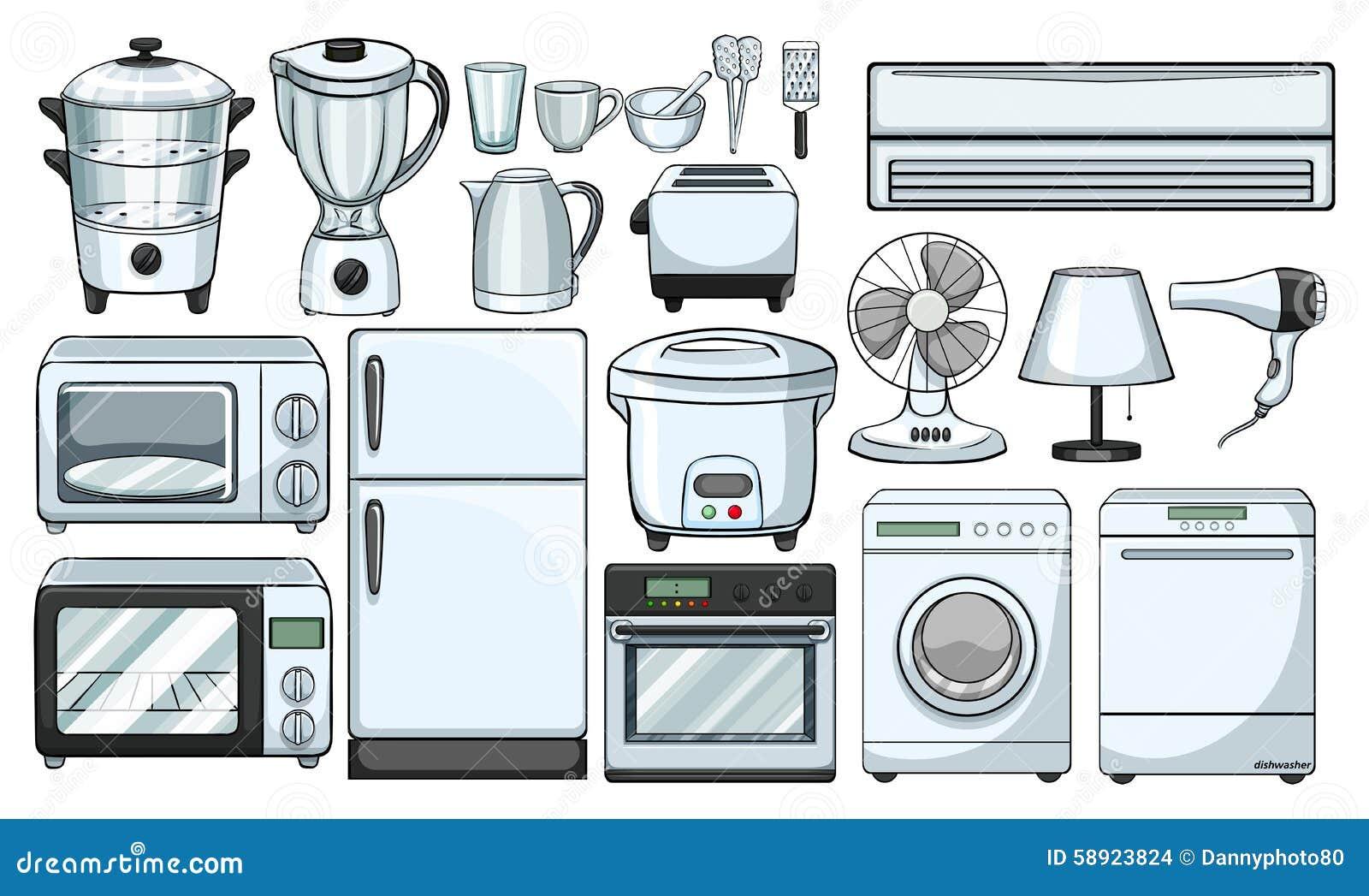 elektronische huishoudelijke apparaten