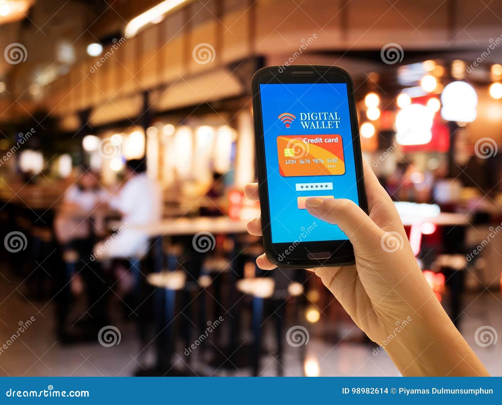 Elektronische handel, slim loons, bedrijfs en technologieconcept