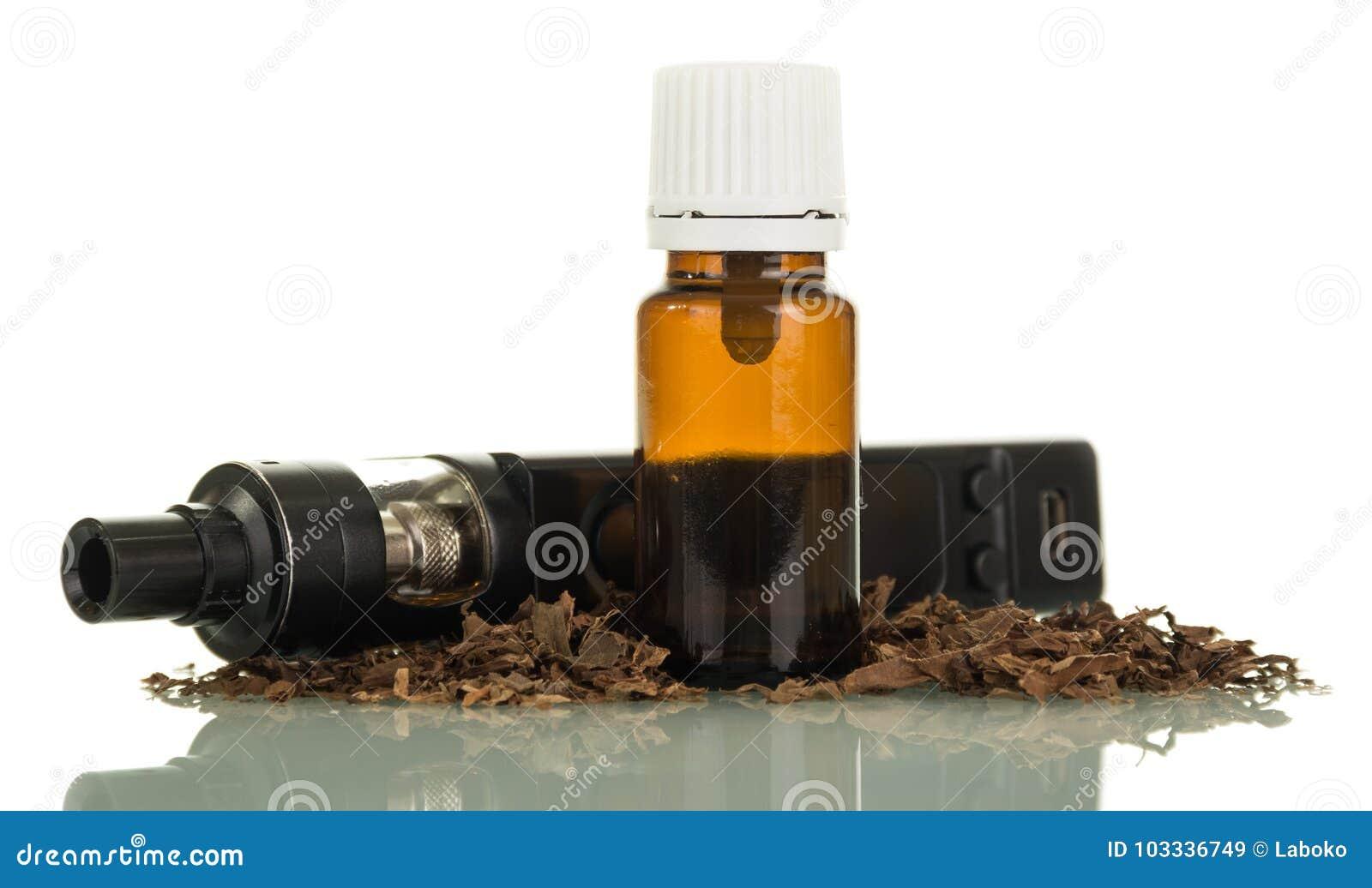 Elektronische schwarze Zigaretten und Flüssigkeit für das Vaping