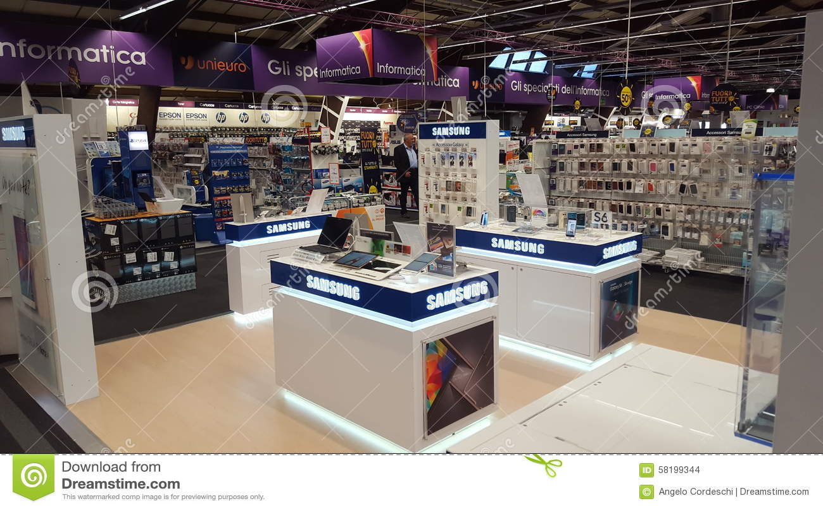 Elektronischer Shop