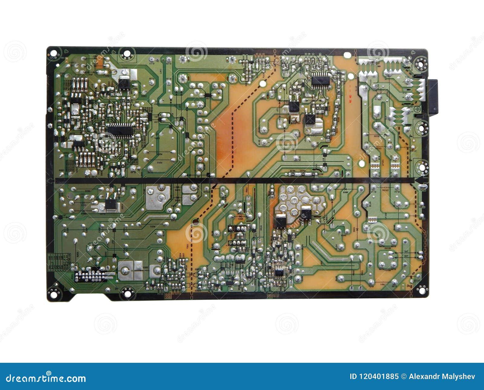 Elektronisches Brett des Fernsehens