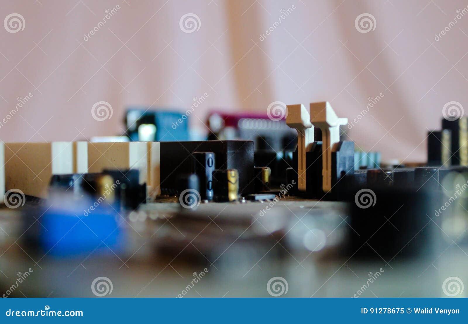 Elektronisk brädestad