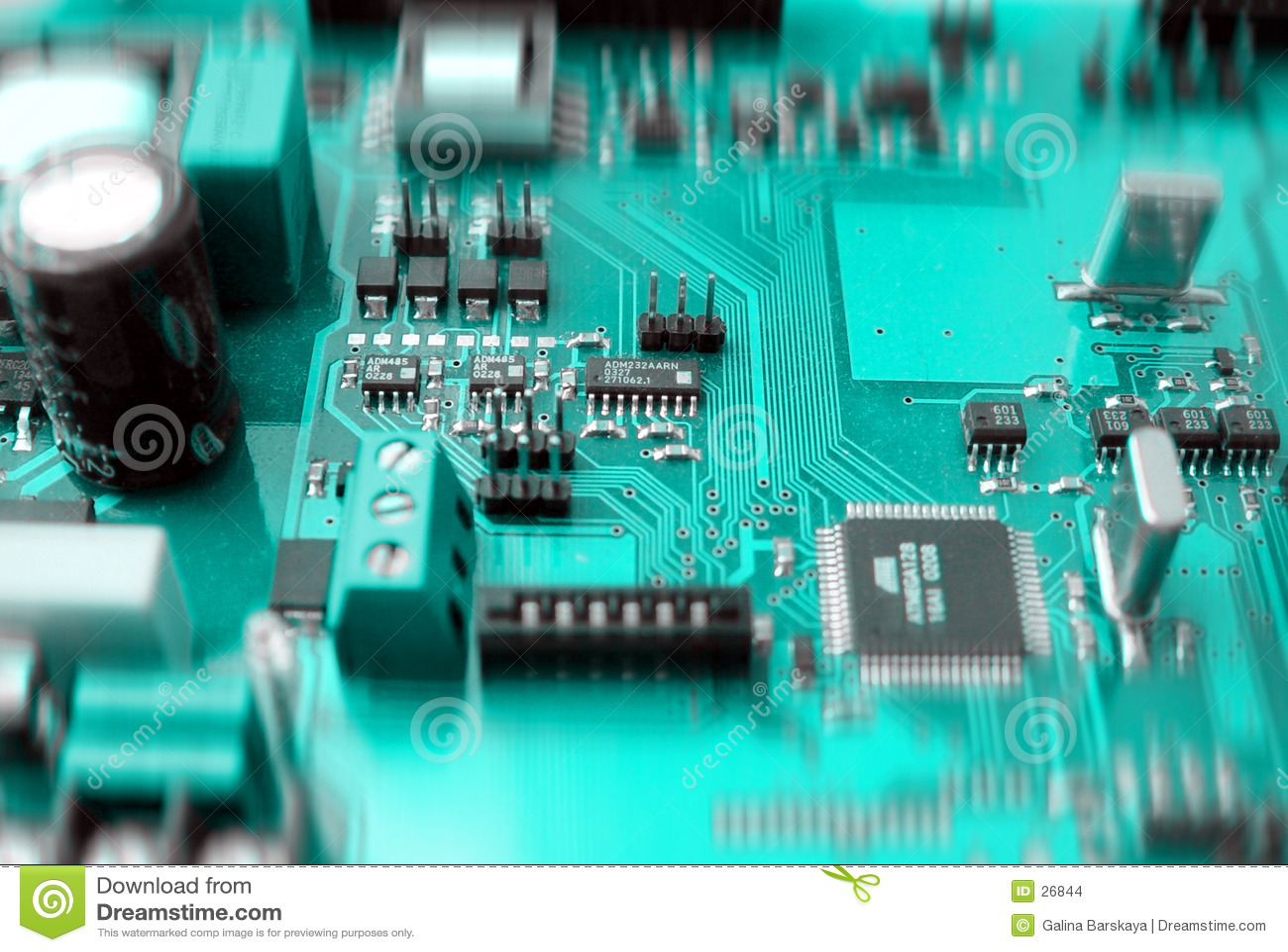 Elektronisk brädeströmkrets