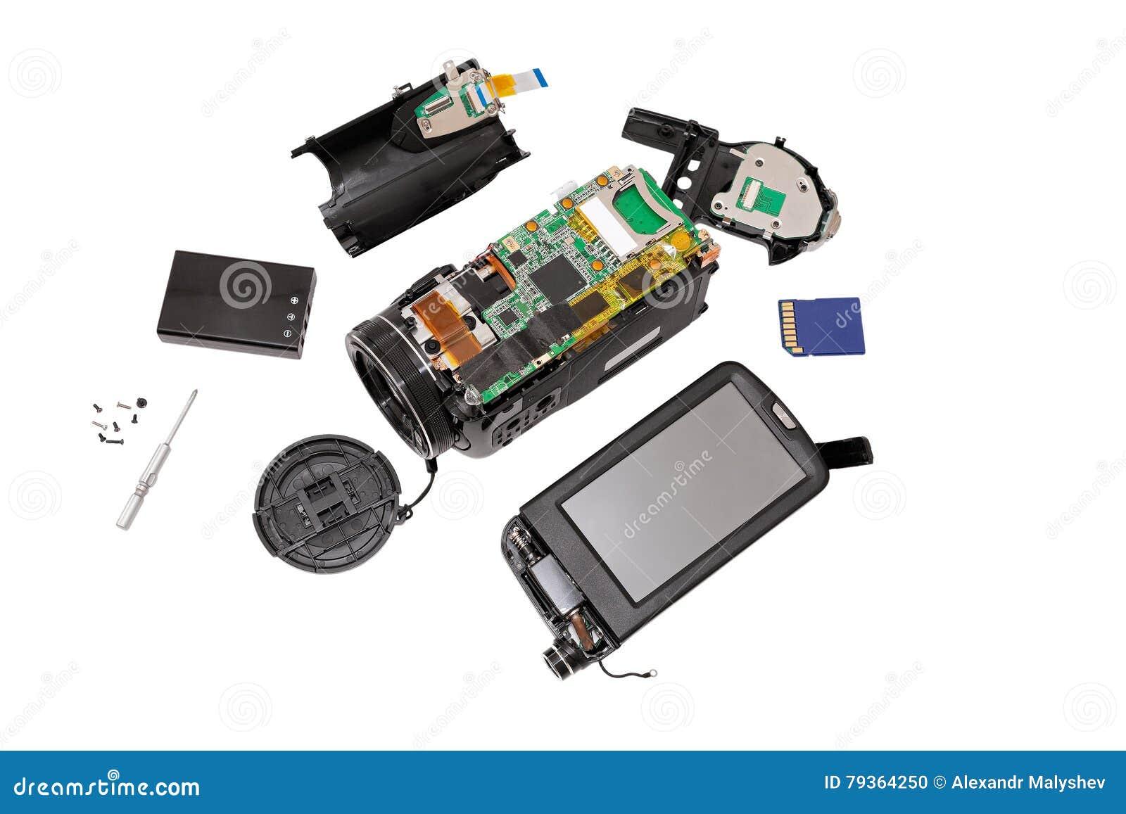 Elektronisk brädevideokamera
