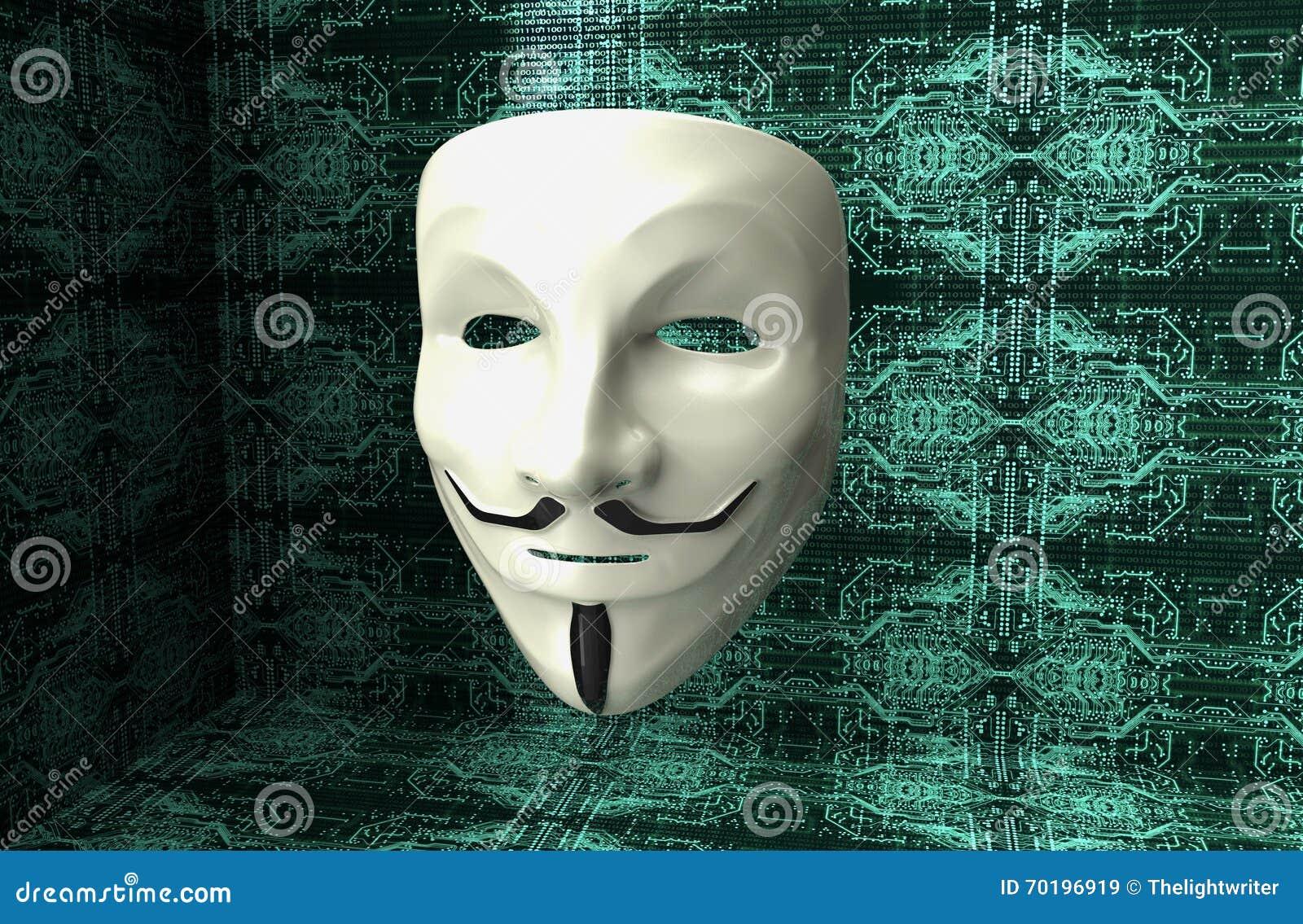 Elektronisk maskering av en datoren hacker