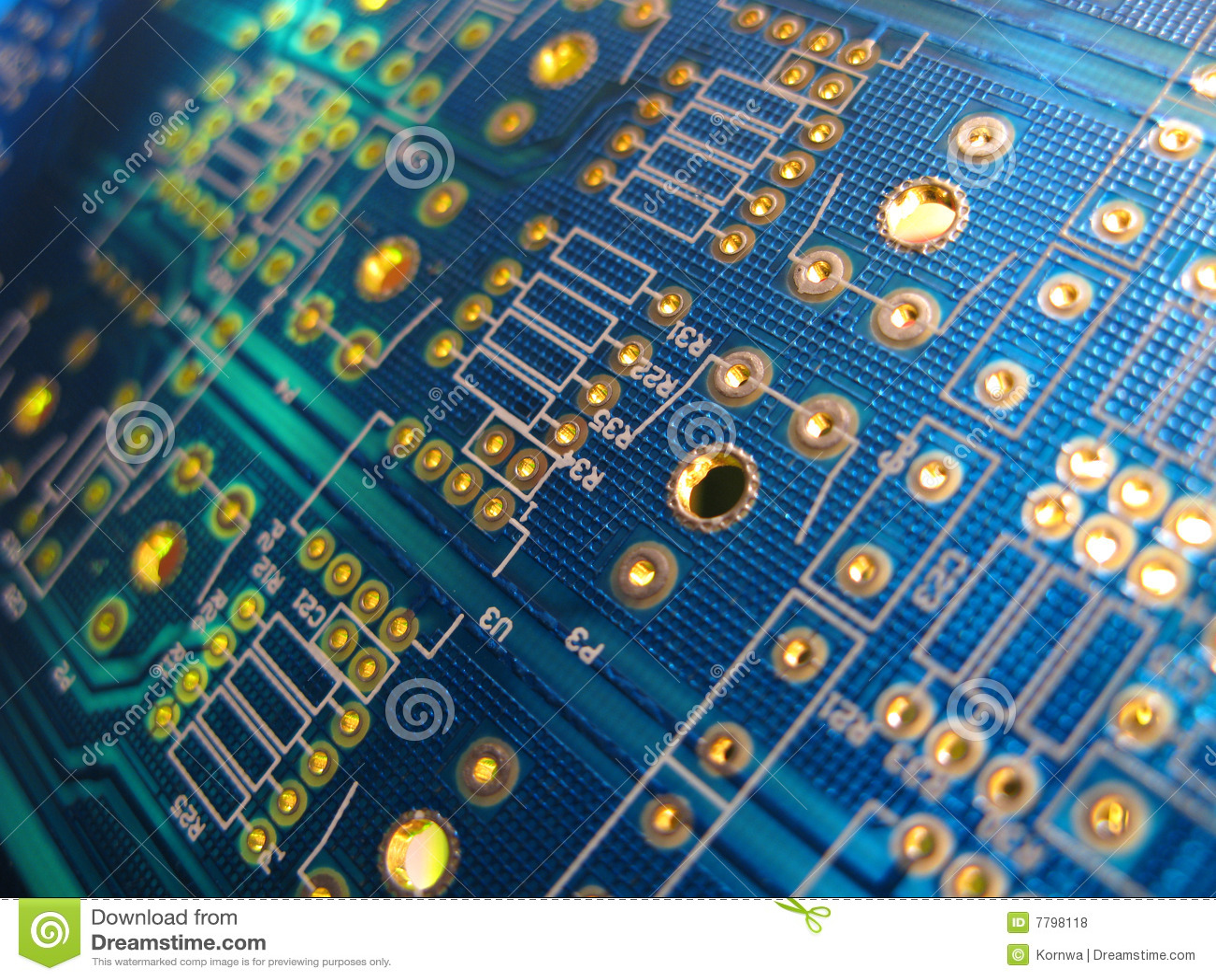 Elektroniskt bräde