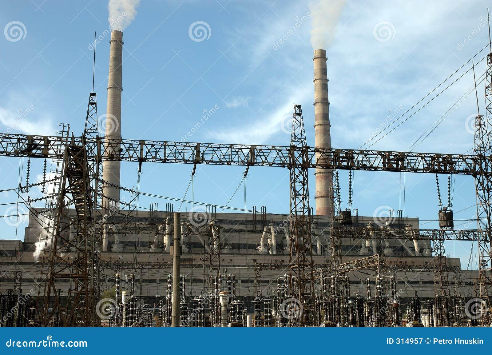 Elektrowni termiczne pracy