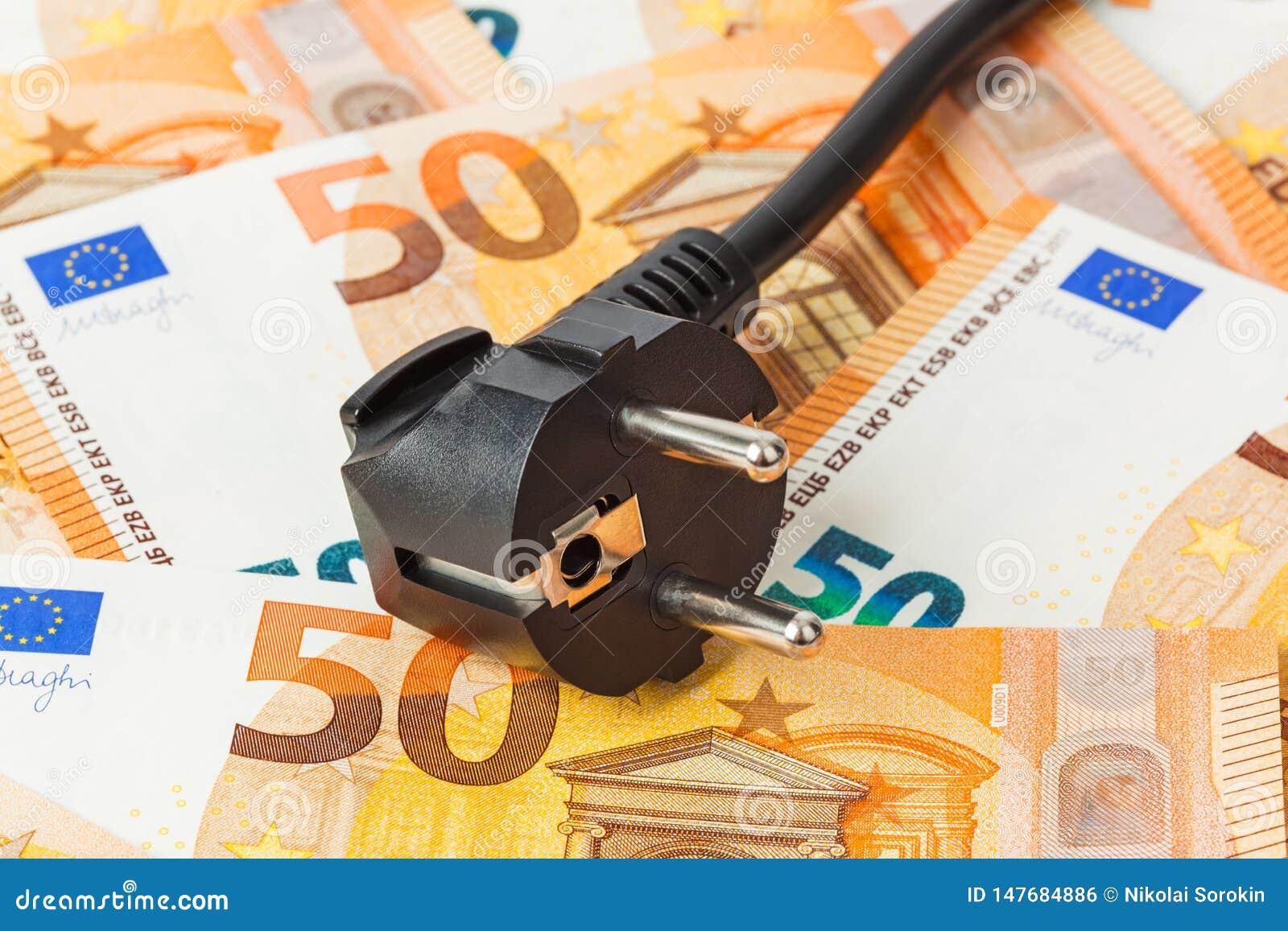 Elektryczna prymka na pieni?dze euro