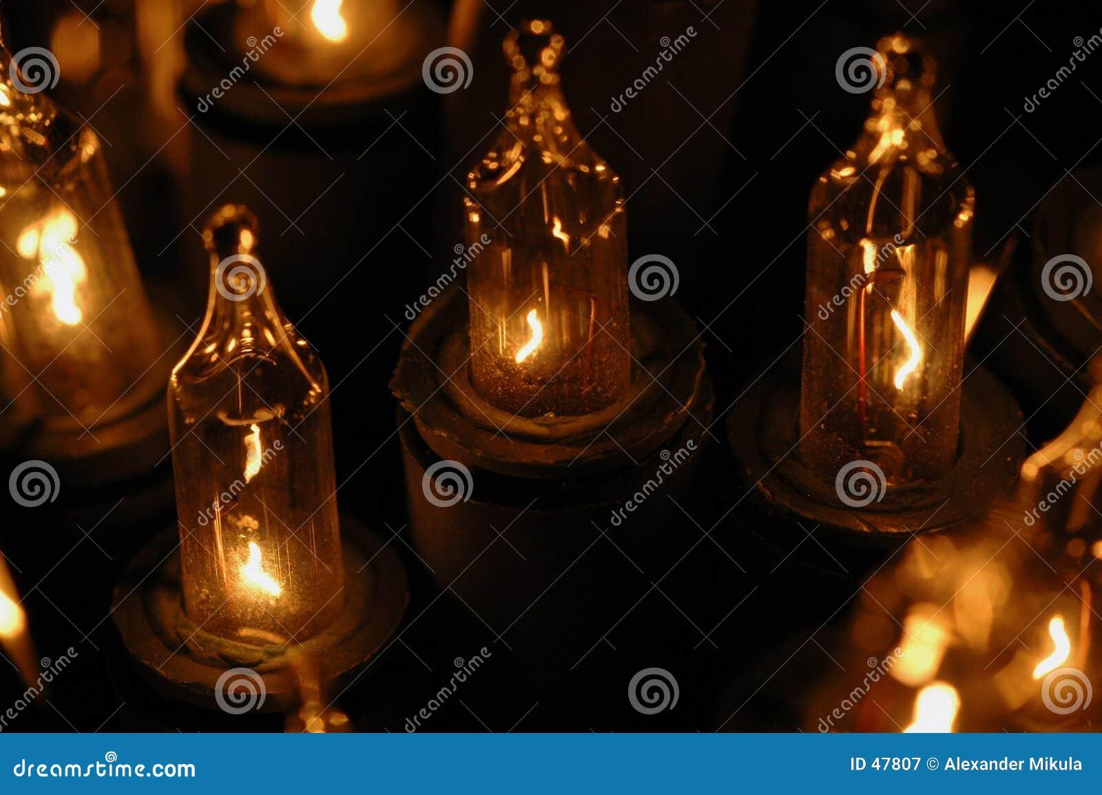Elektryczne świece.