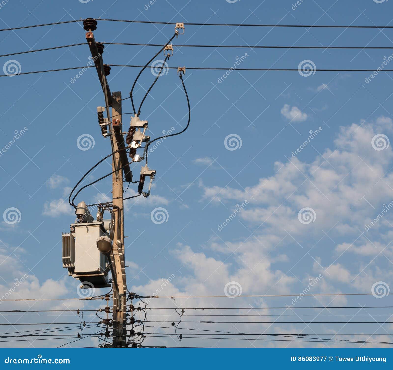 Elektrycznej dystrybuci transformator