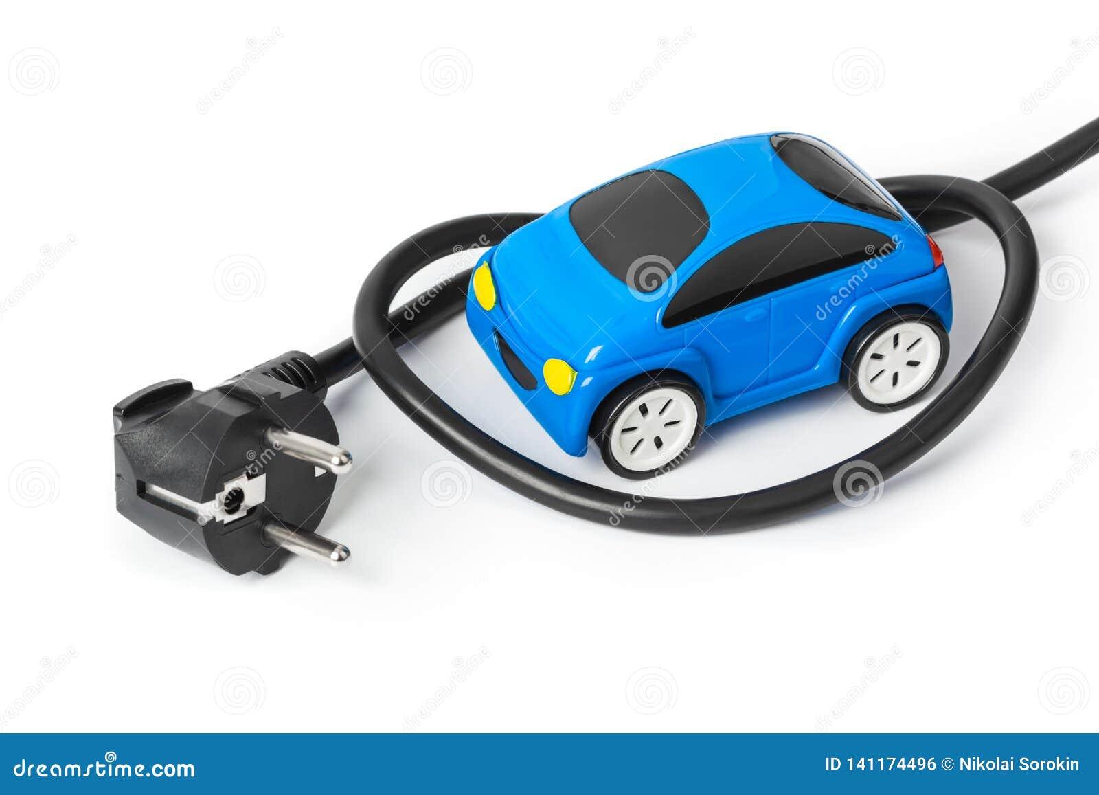 Elektrycznej prymki i zabawki samochód
